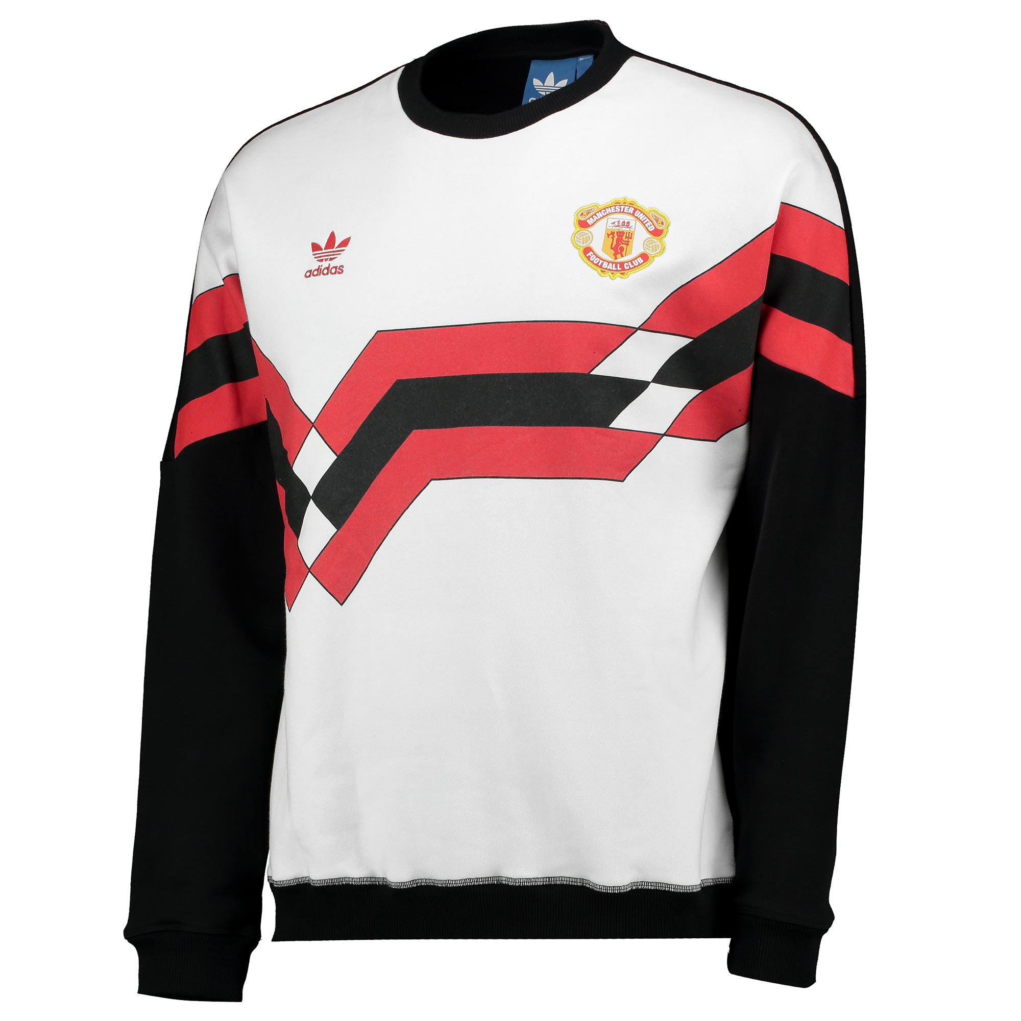 Manchester United Originals Crew Neck Sweatshirt - Black
