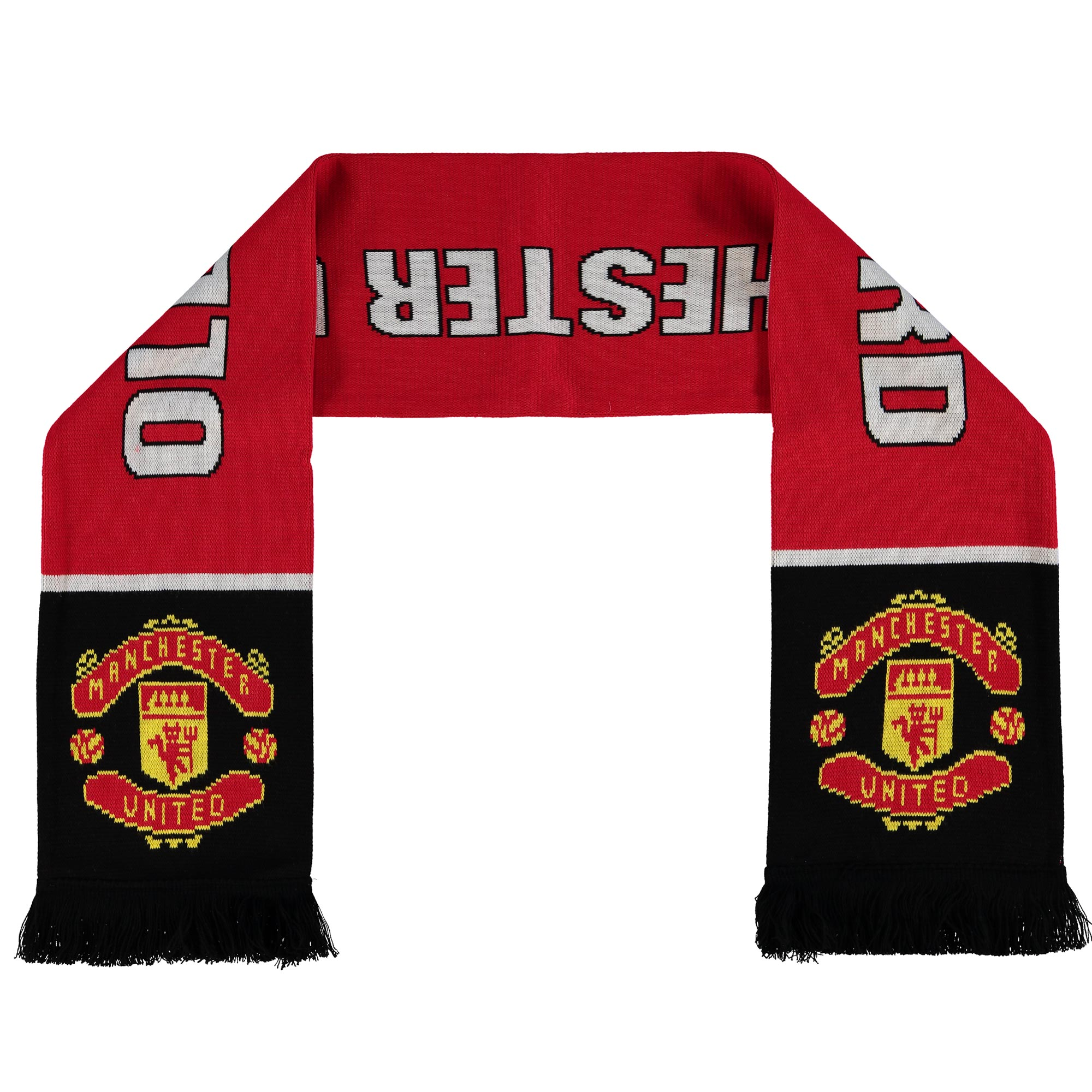 Manchester United Old Trafford Fan Scarf - Red - Adult