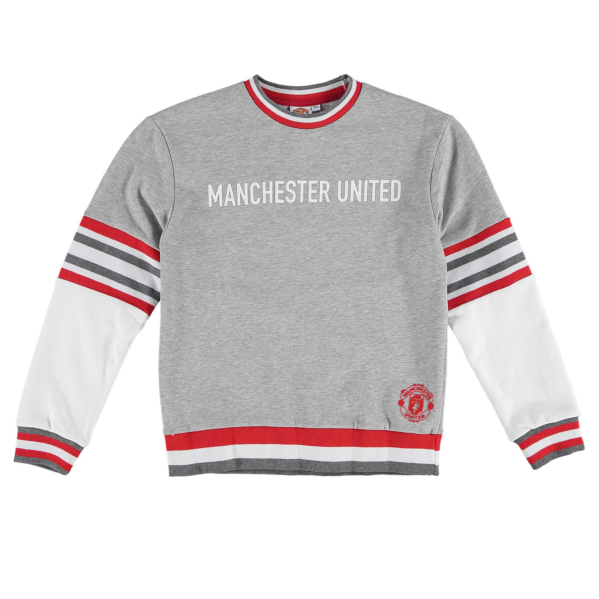 Manchester United Sports Sweatshirt - Grey - Girls