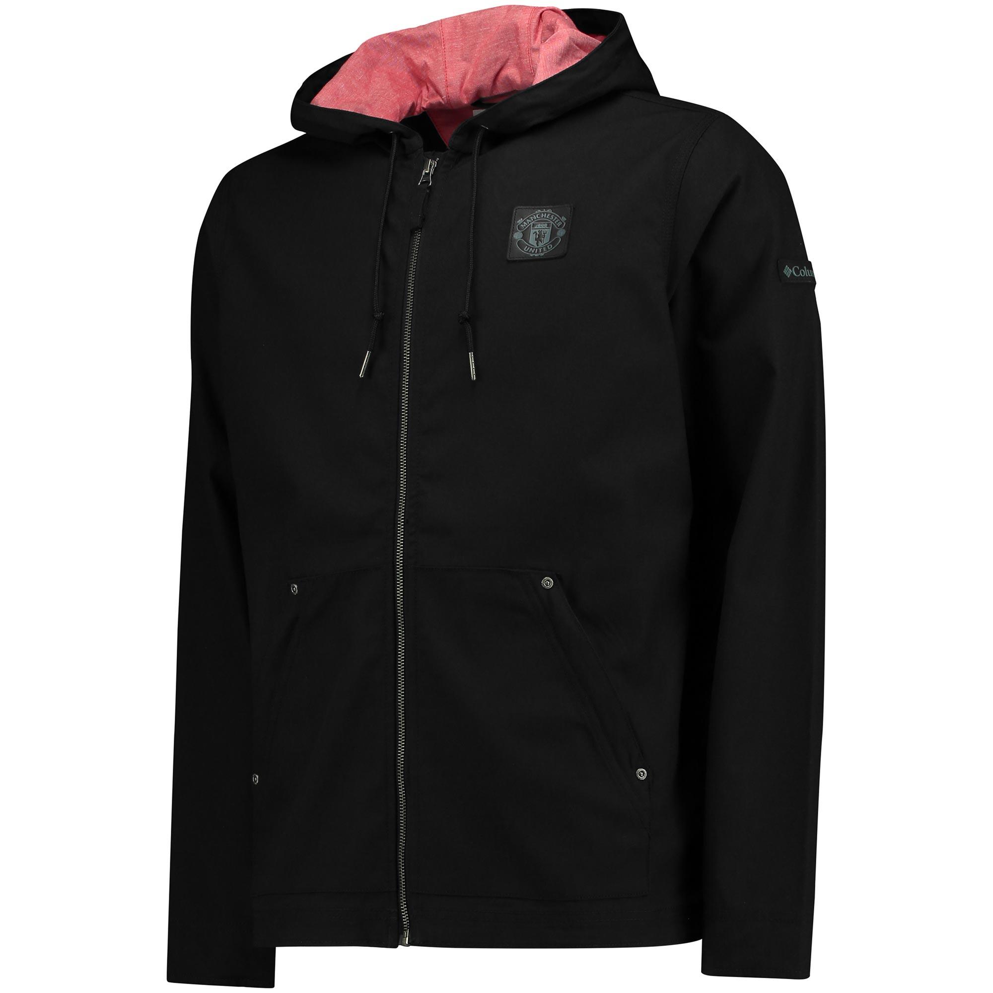 Manchester United Loma Vista Springs Jacket - Black - Mens