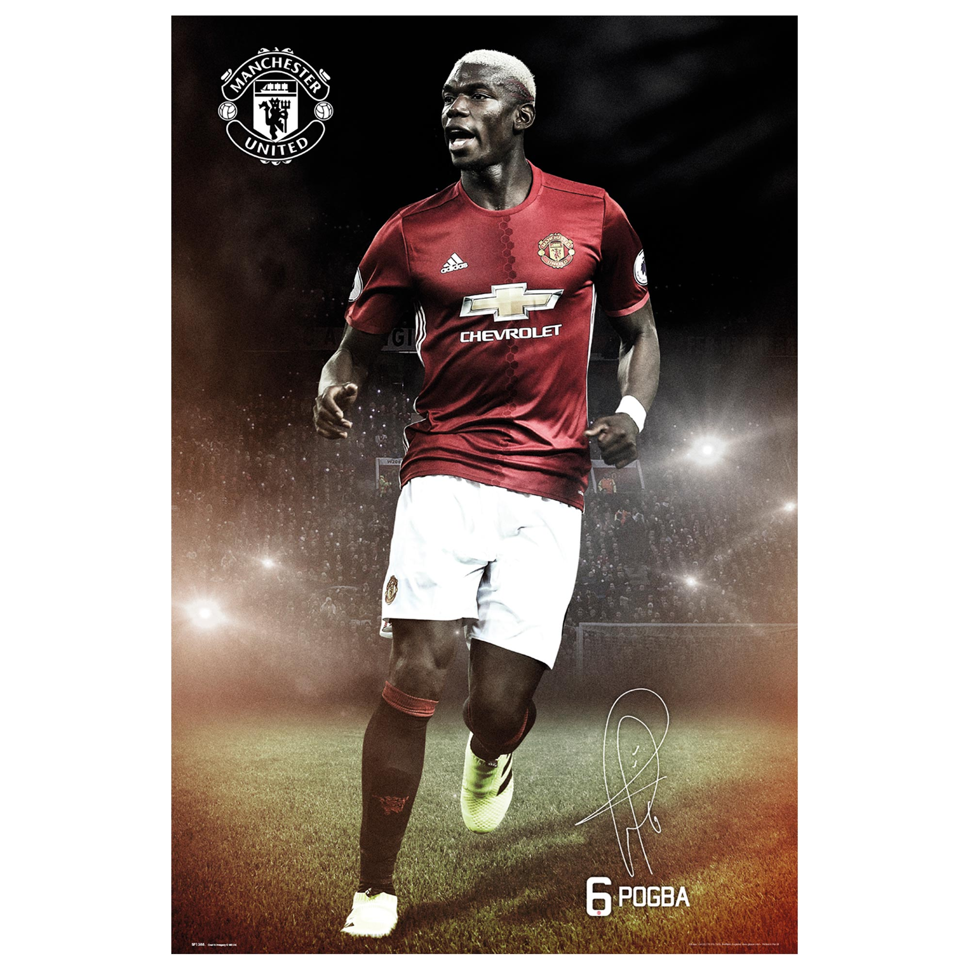 Manchester United 16-17 Pogba Poster - 61 x 92cm