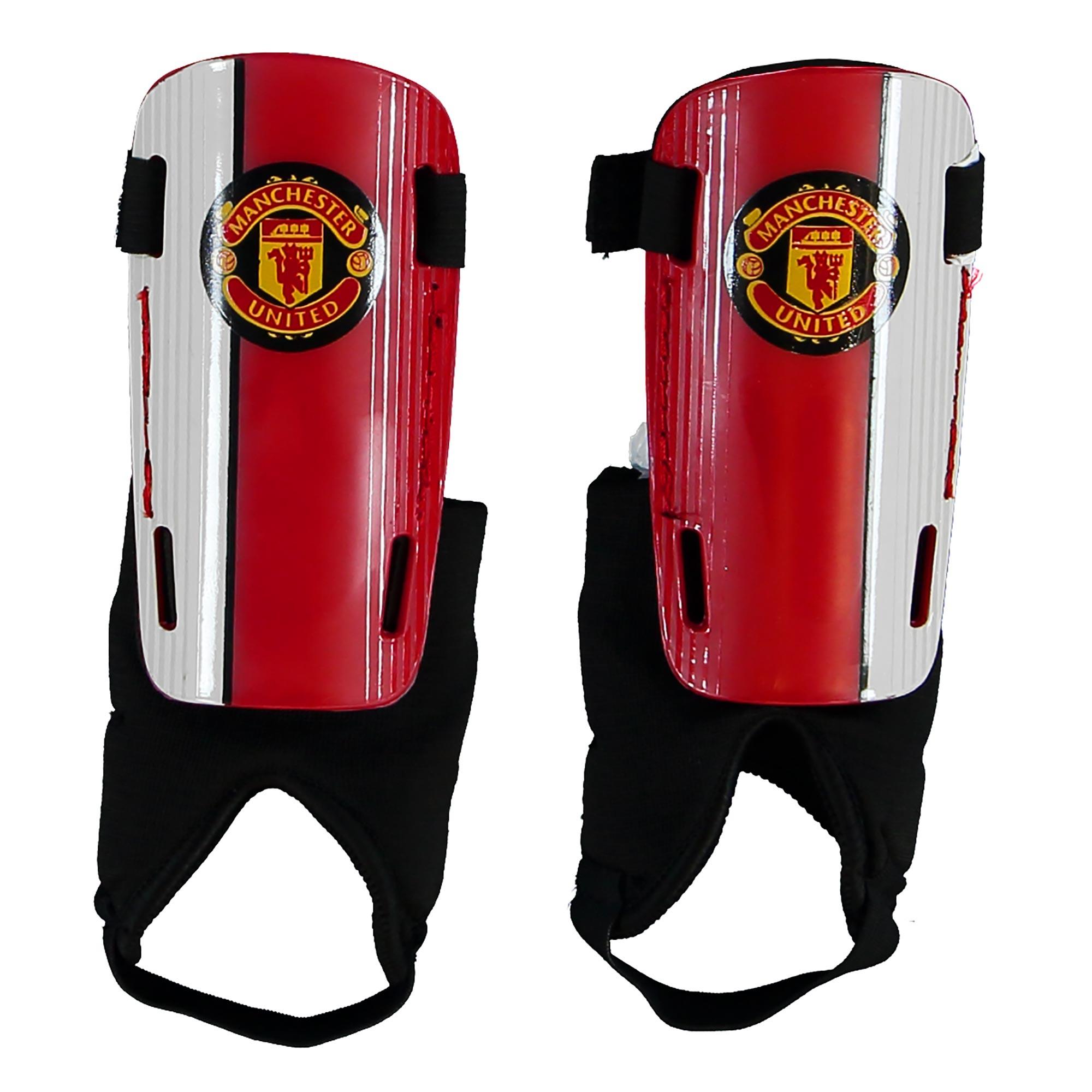 Protège-tibias avec écusson Manchester United - Garçon