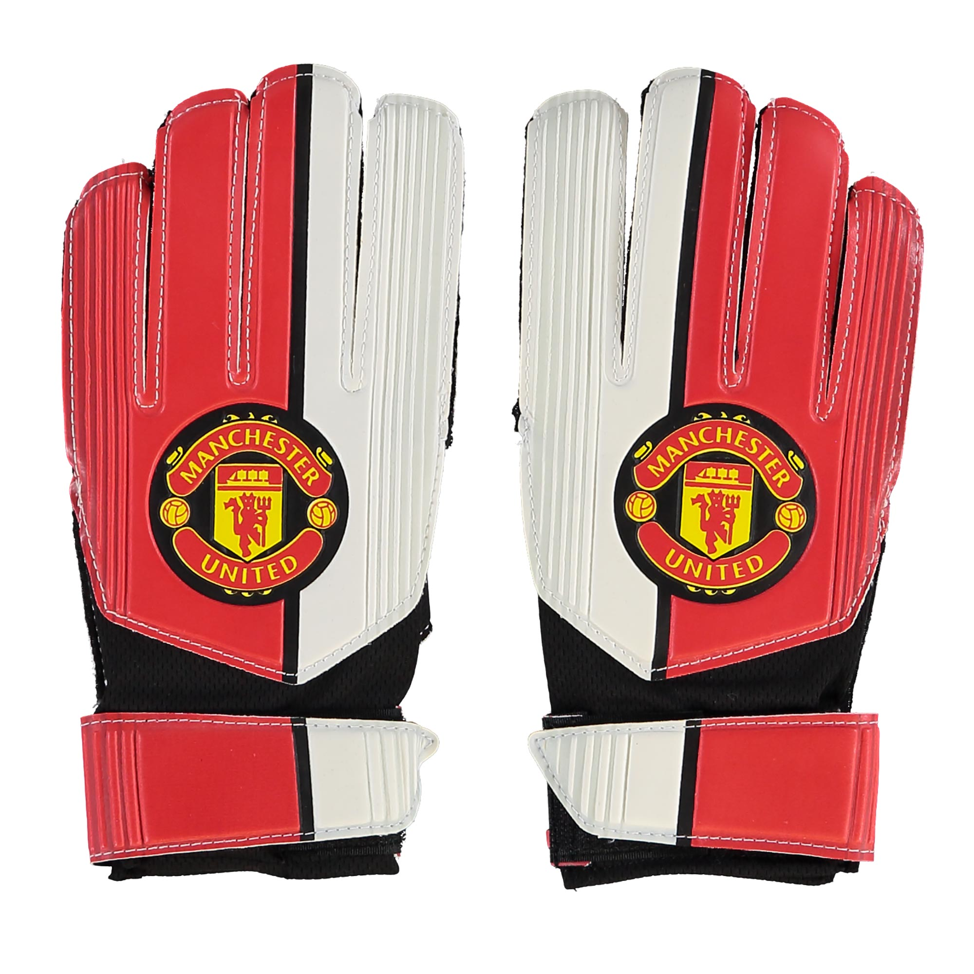 Manchester United Crest Gloves - Boys