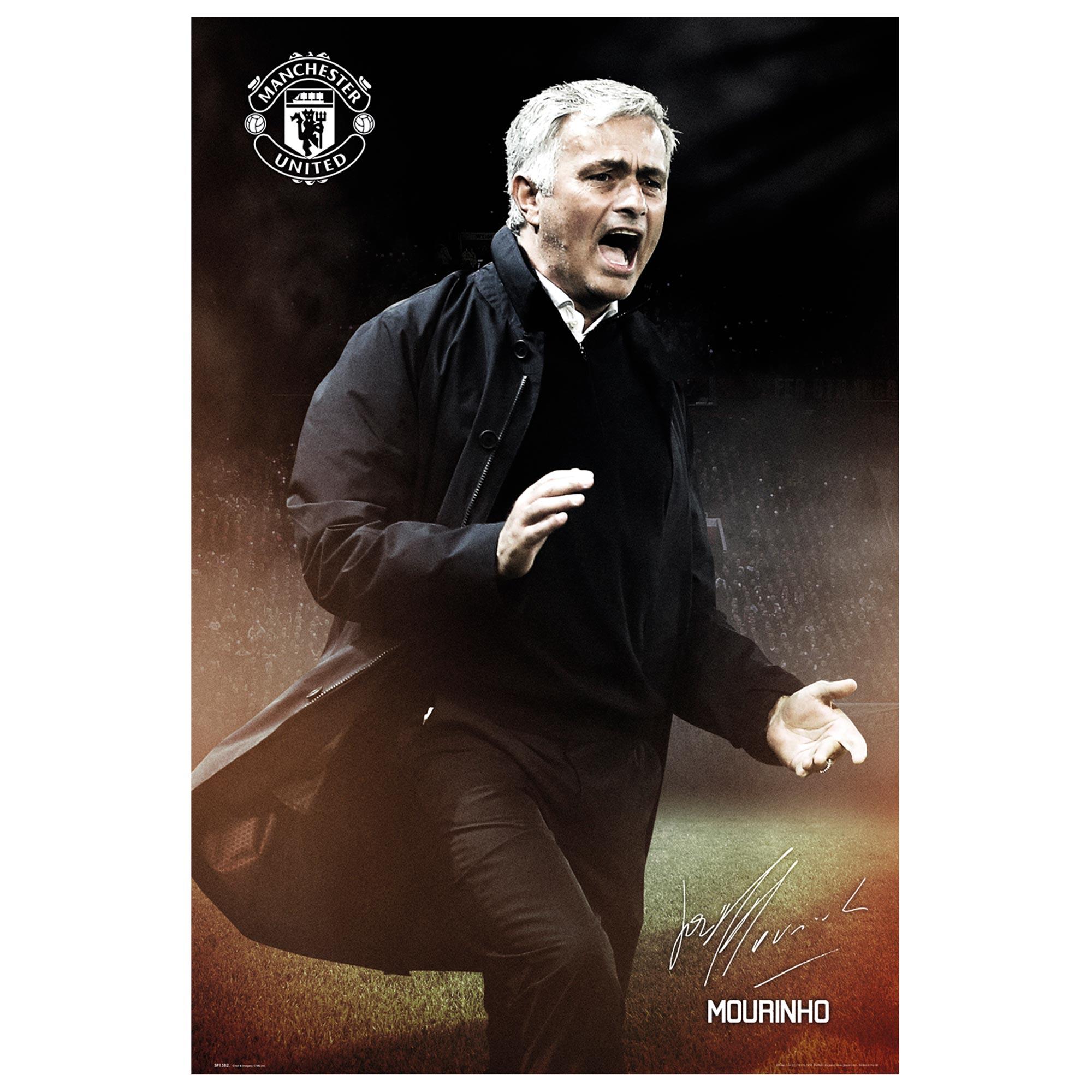 Manchester United Mourinho Poster - 61 x 92cm