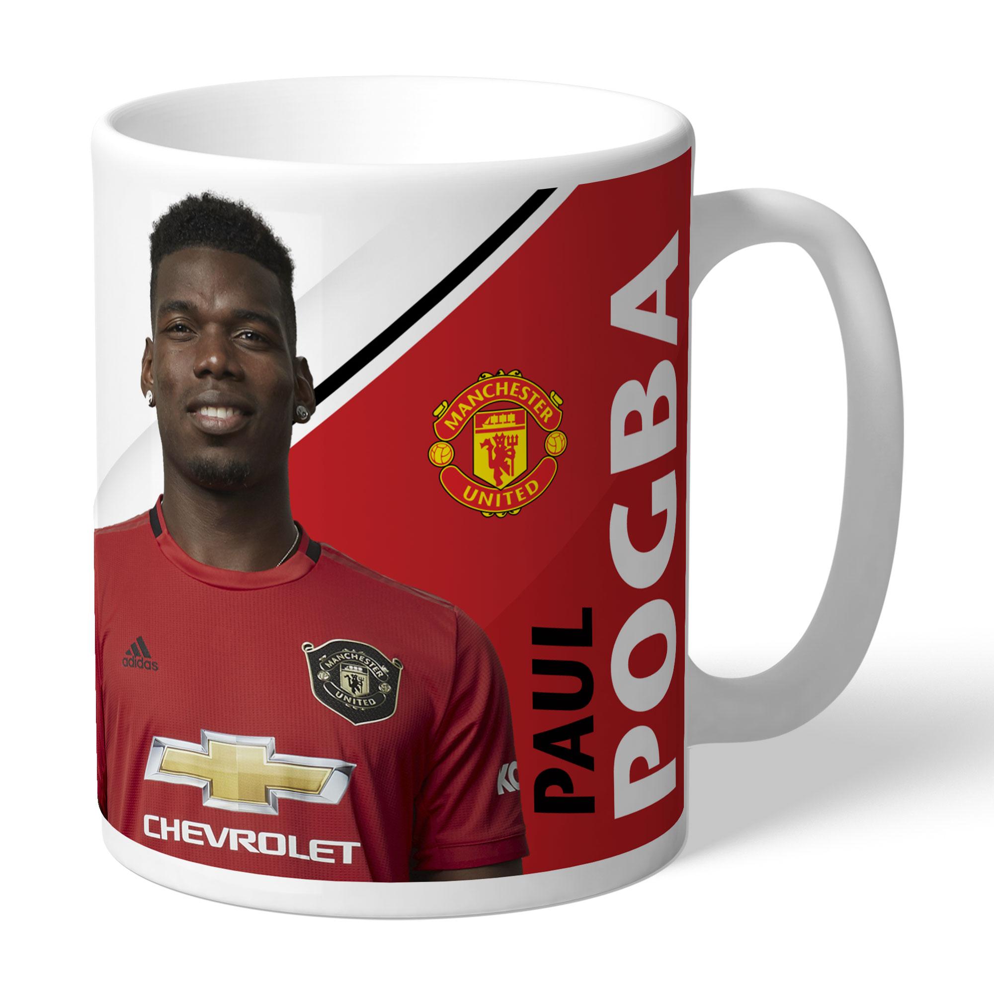 Taza con firma personalizada del Manchester United- Pogba