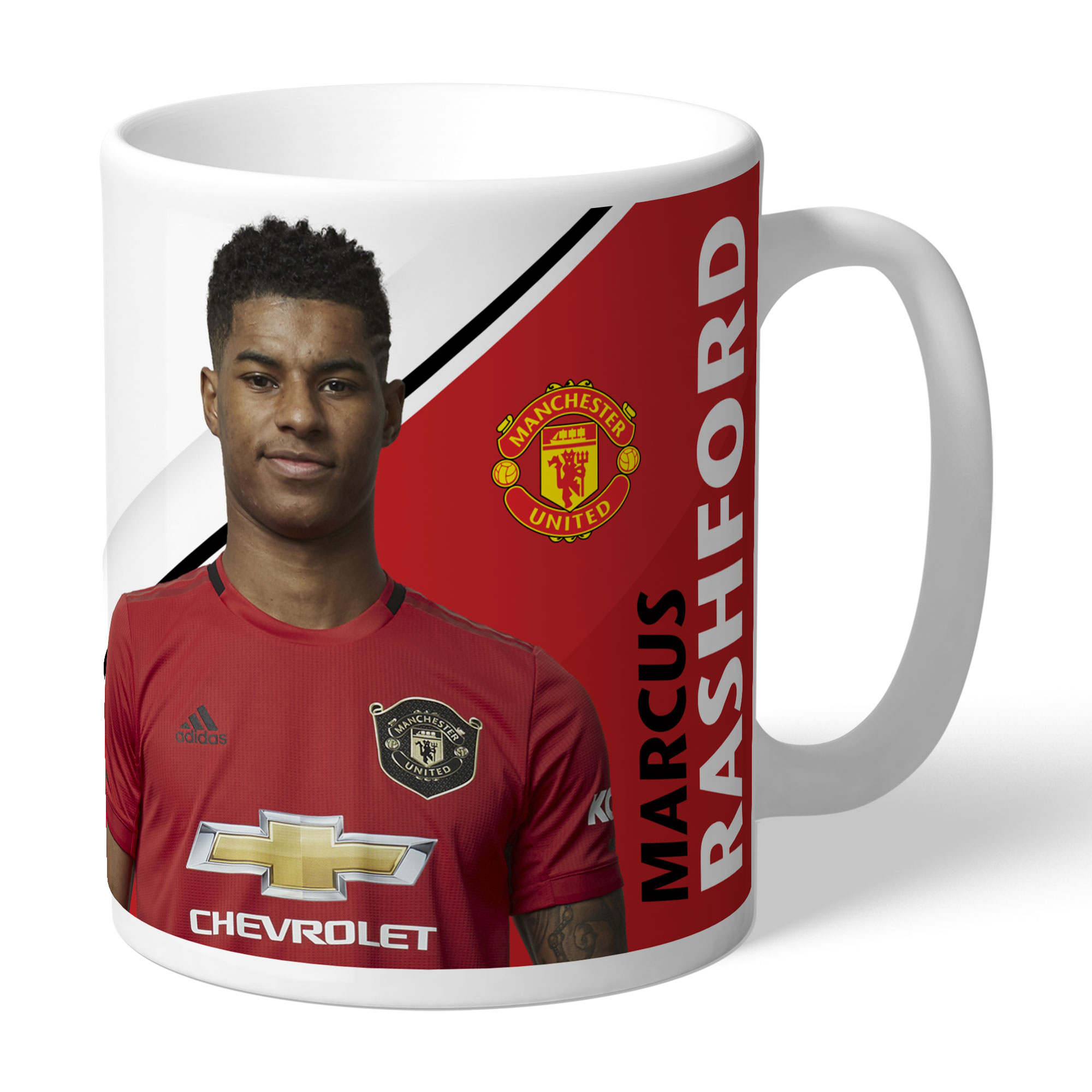 Taza con firma personalizada del Manchester United- Rashford