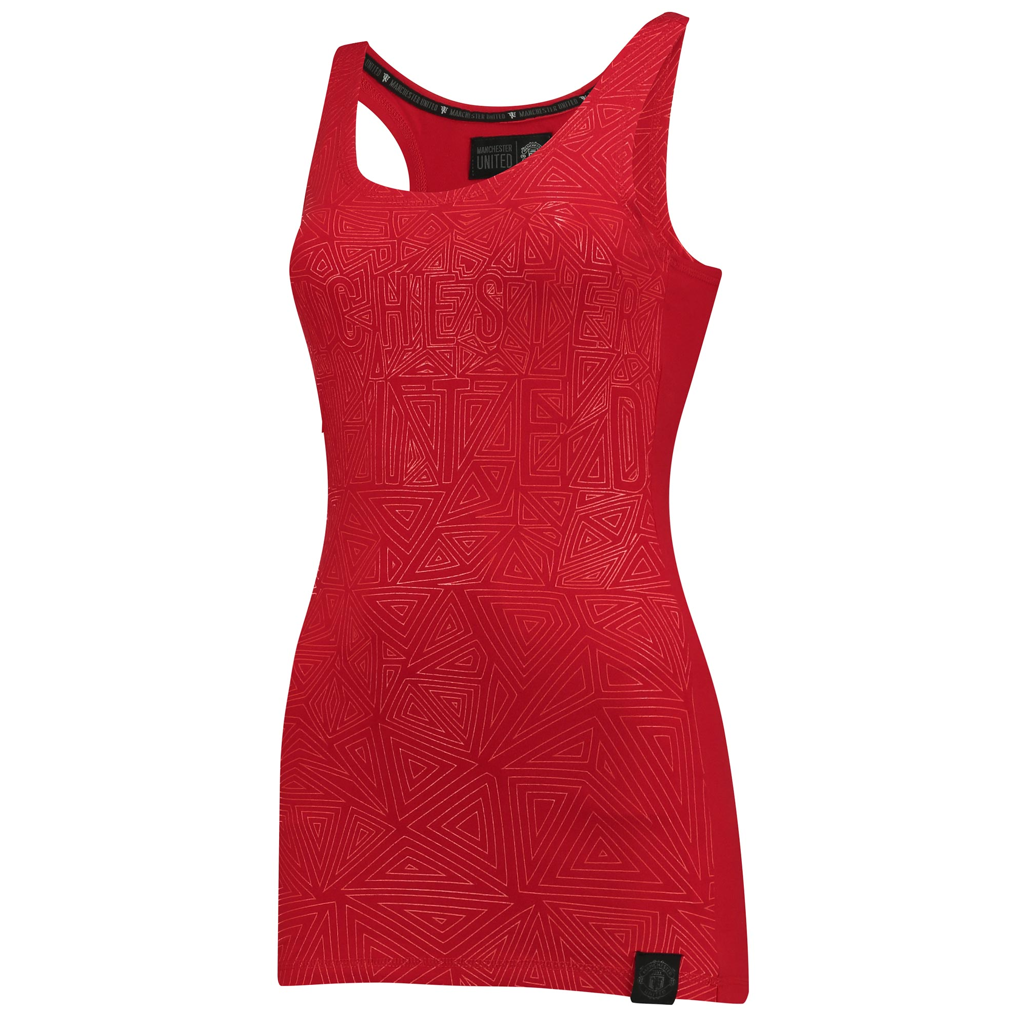 Manchester United Sportswear Racer Back Vest - Red - Womens