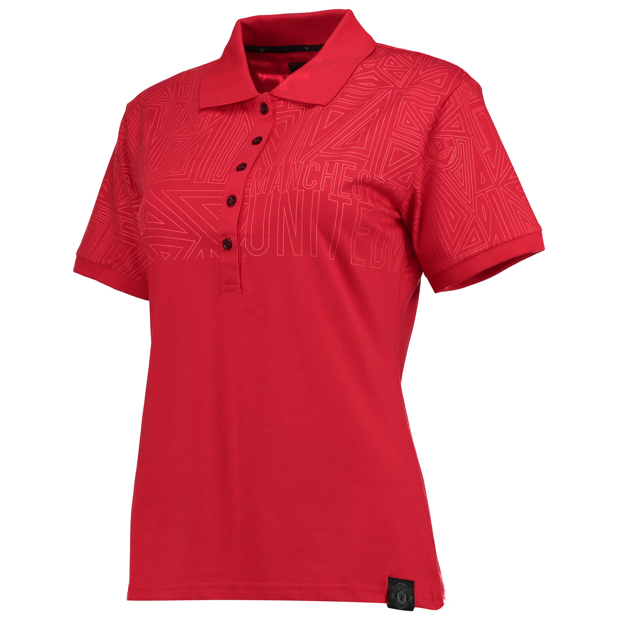 Manchester United Sportswear Polo Shirt - Coral - Womens