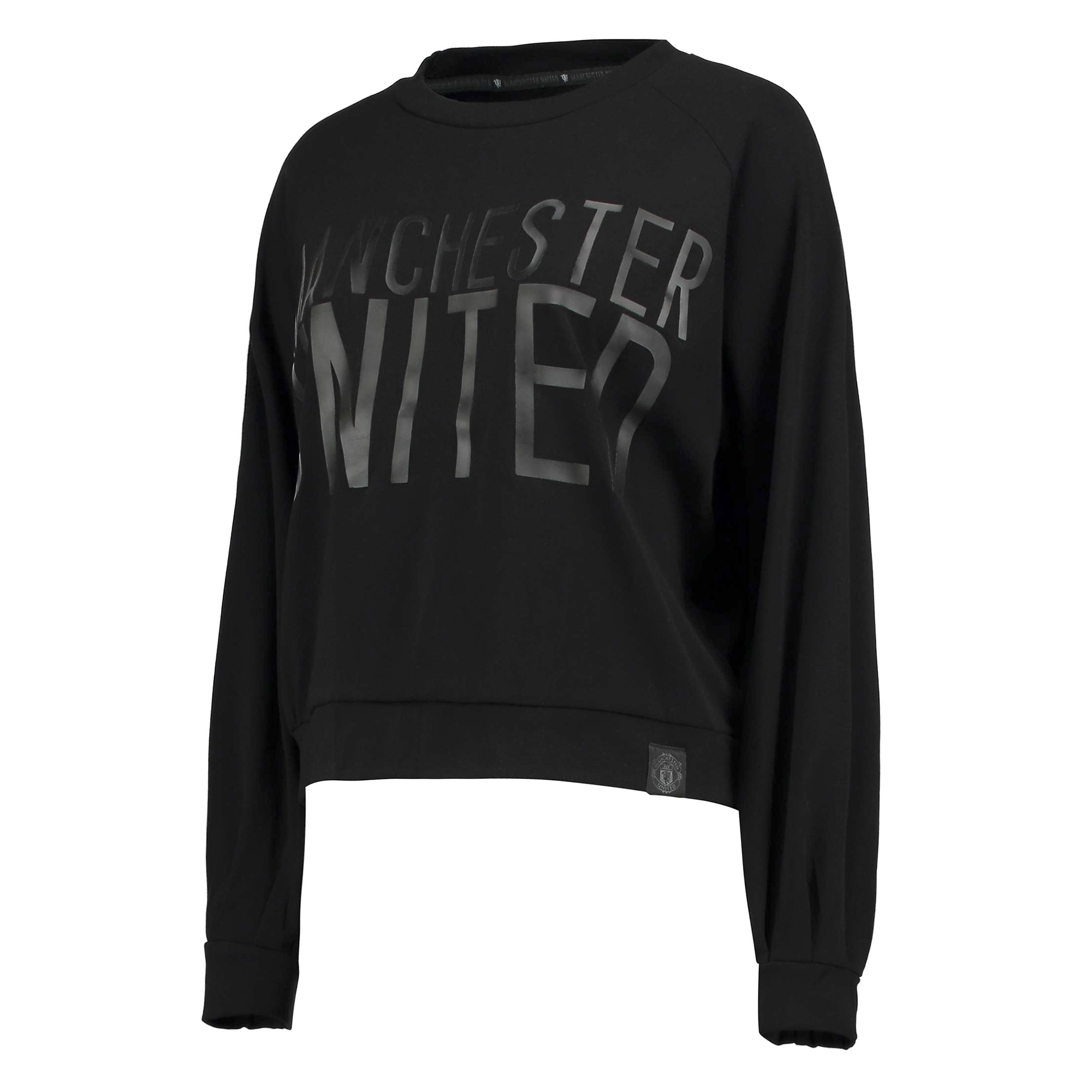 Manchester United Sportswear Crew Neck Sweater - Black - Womens