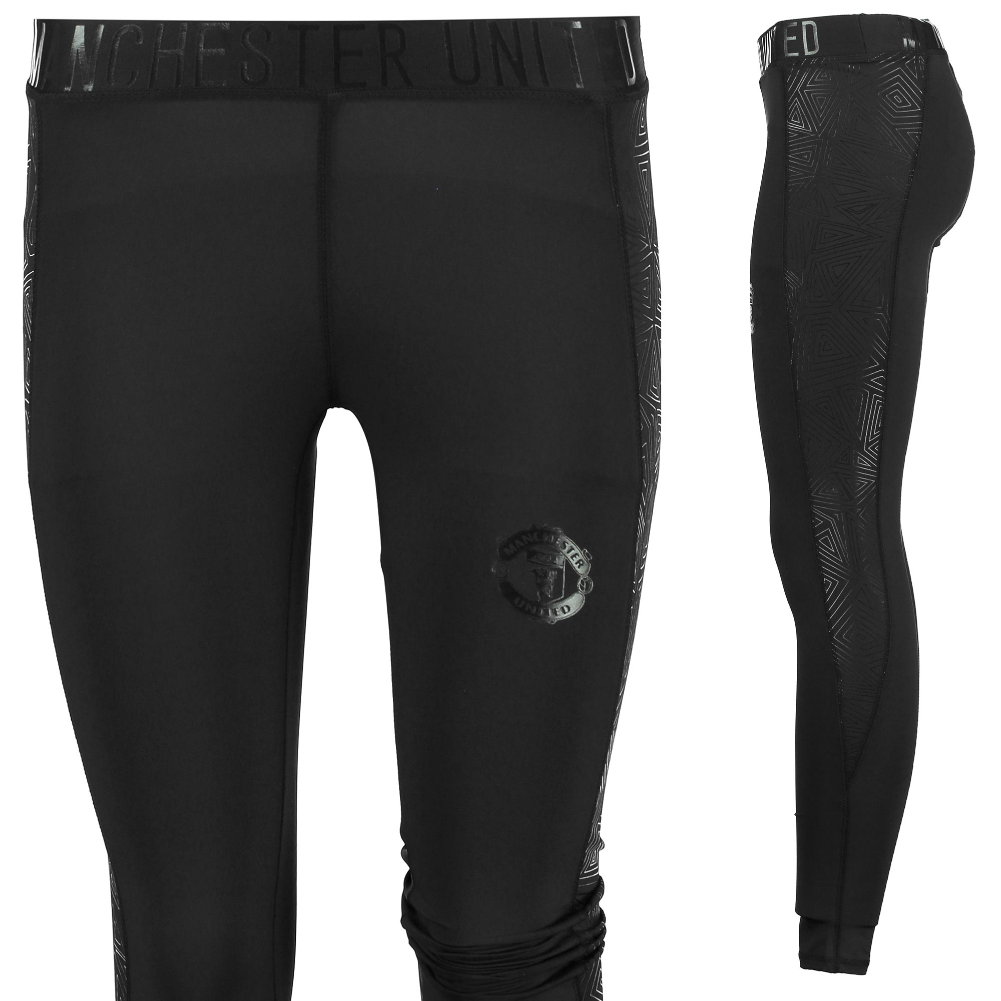 Manchester United Sportswear Leggings - Black - Womens