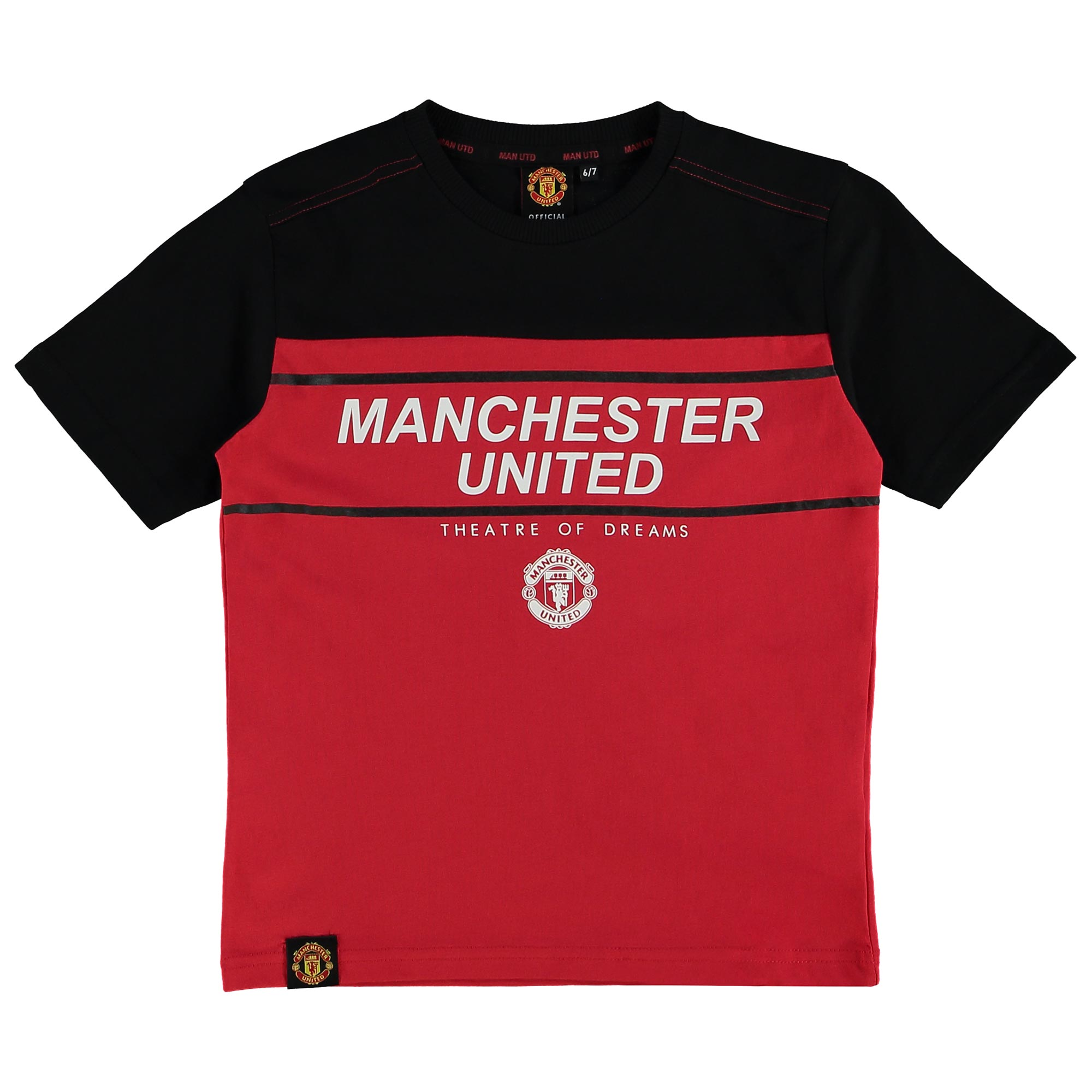 Manchester United Essential Theatre of Dreams T-Shirt - Red - Kids