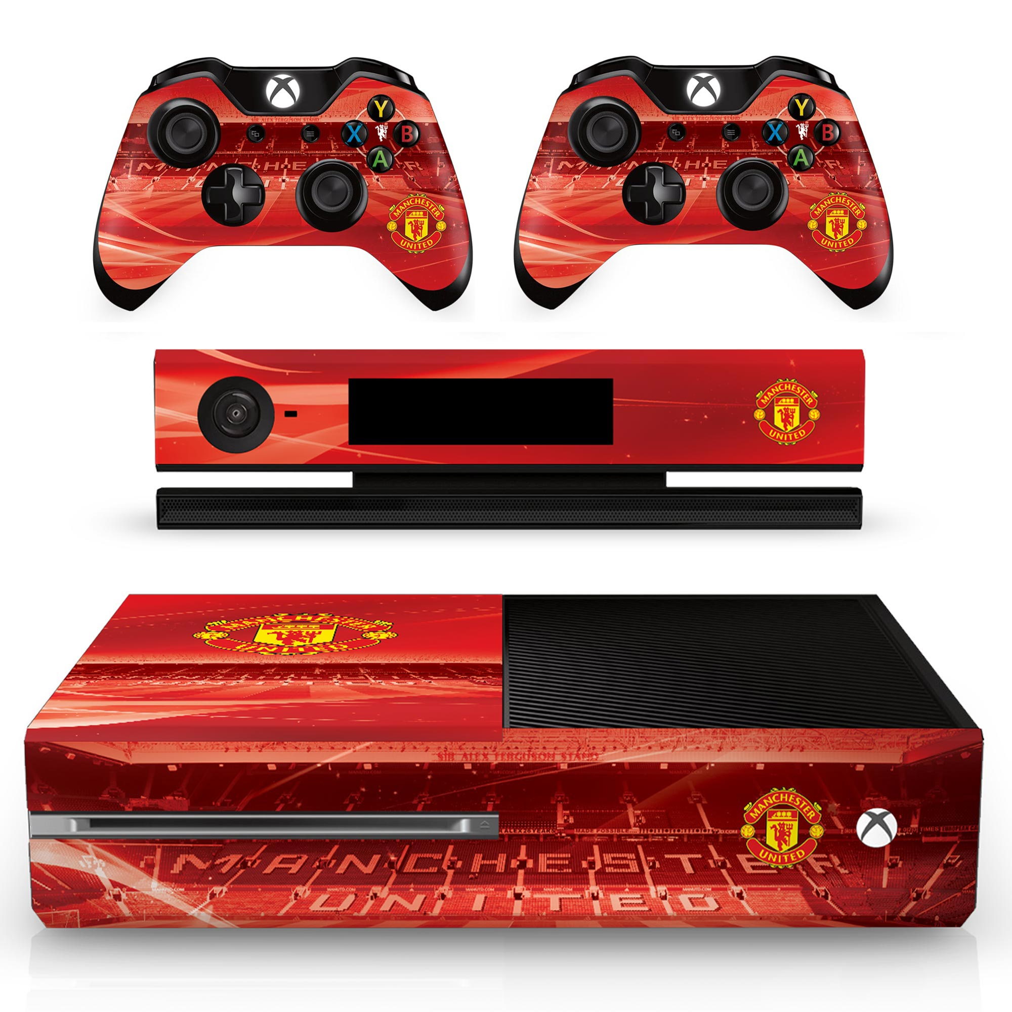 Manchester United Xbox One Console and Controller Skin Set