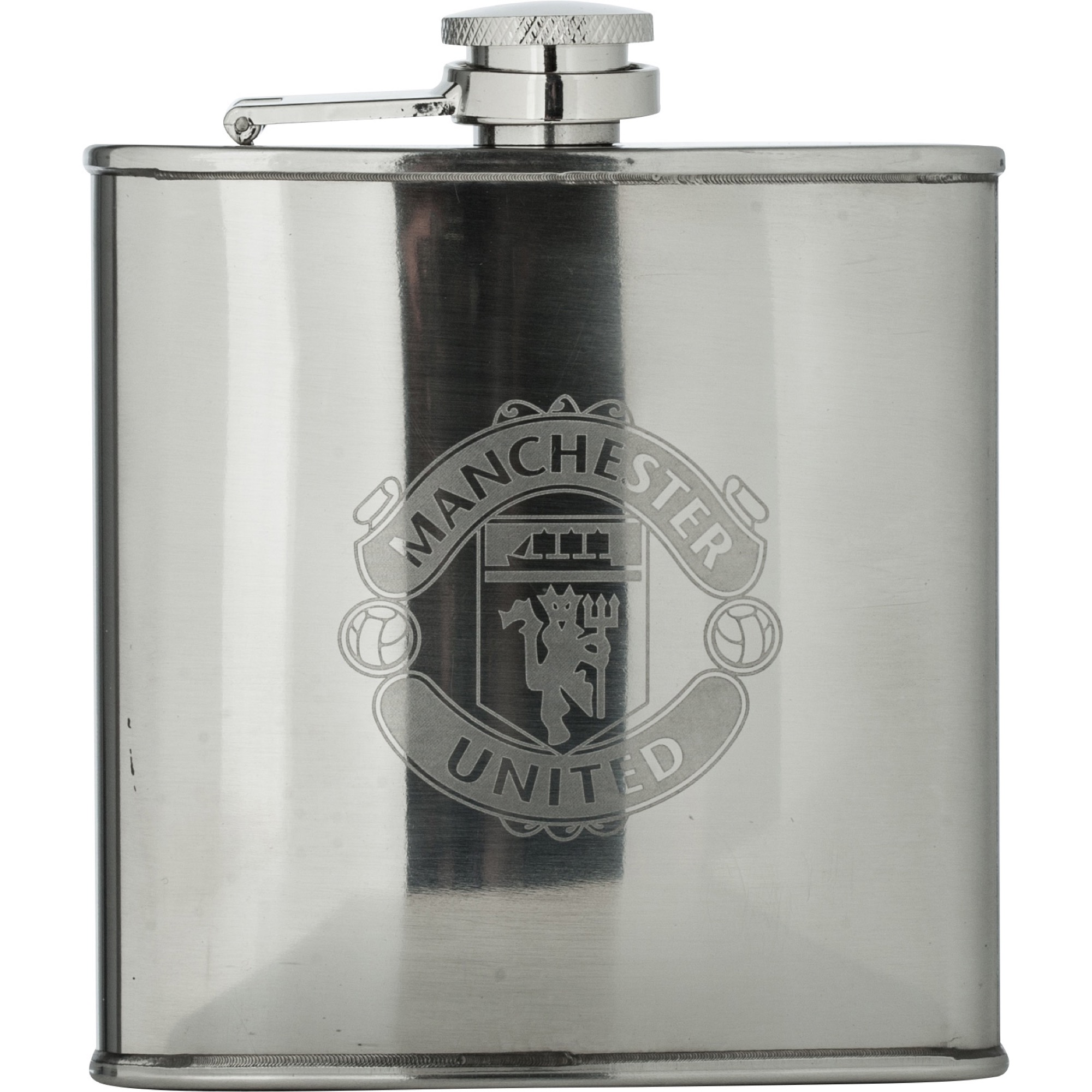 Manchester United 6oz Staineless Steel Flask