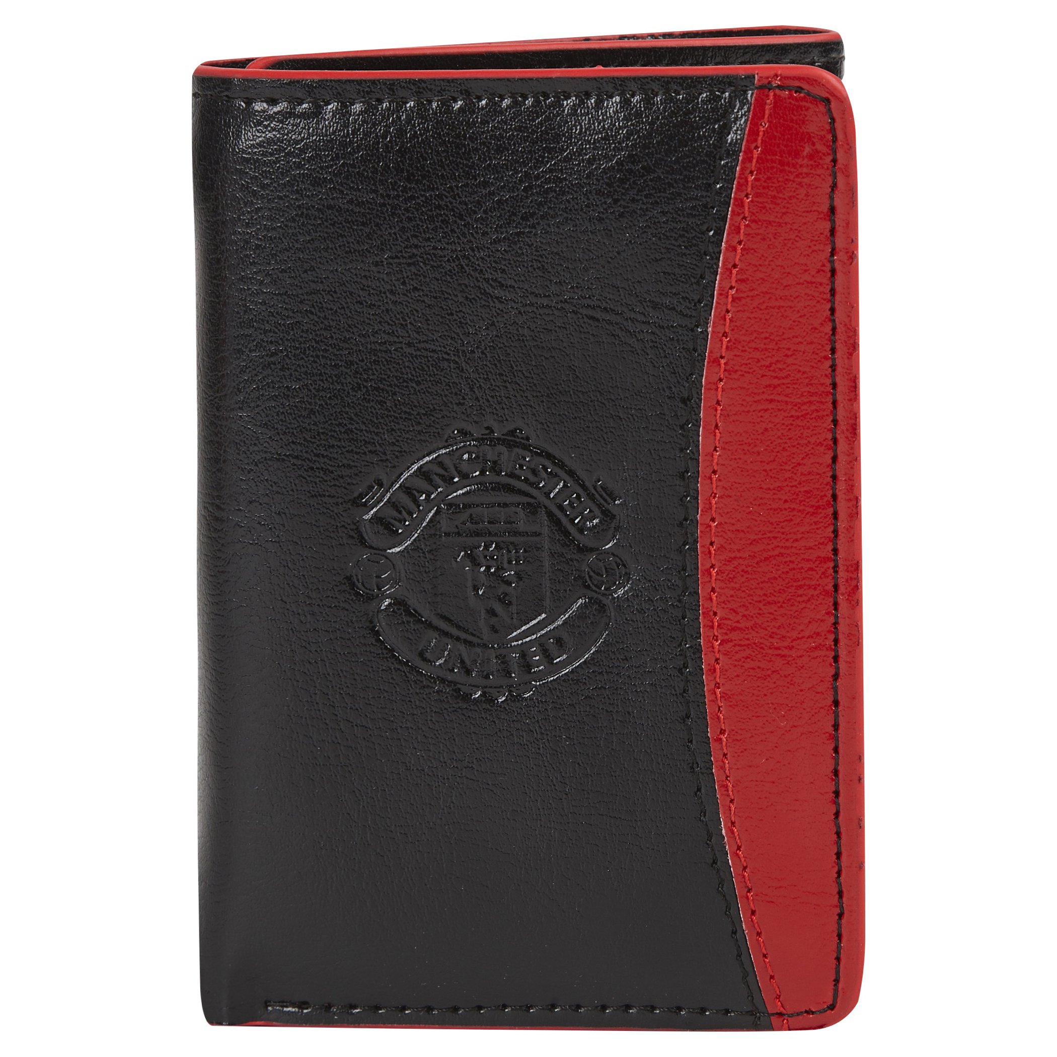 Manchester United Leather Tri Fold Wallet