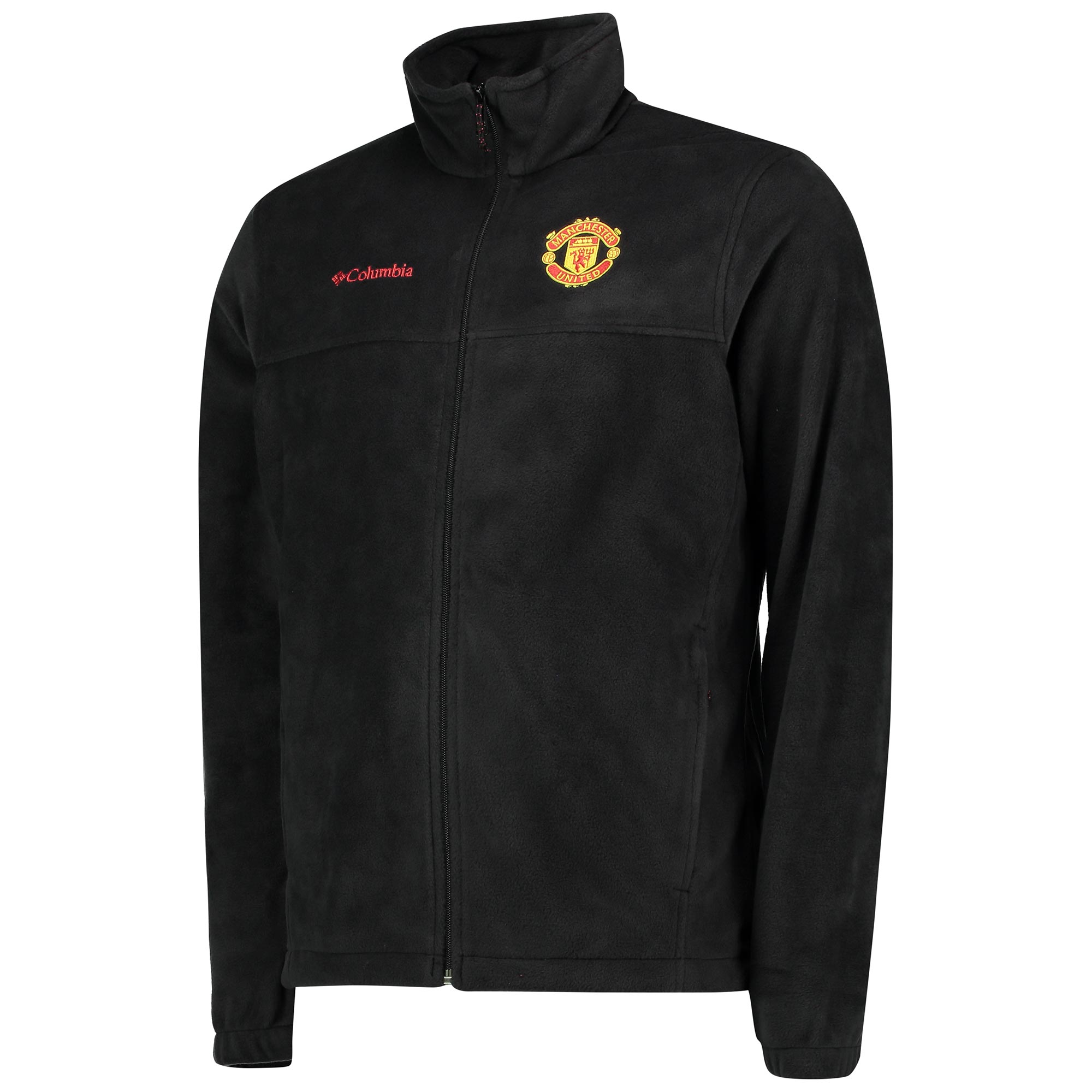Manchester United Columbia Steens Mountain Full Zip Fleece - Black - M