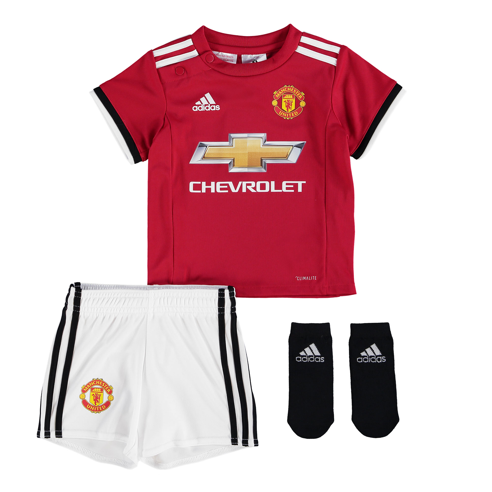 Manchester United Home Baby Kit 2017-18