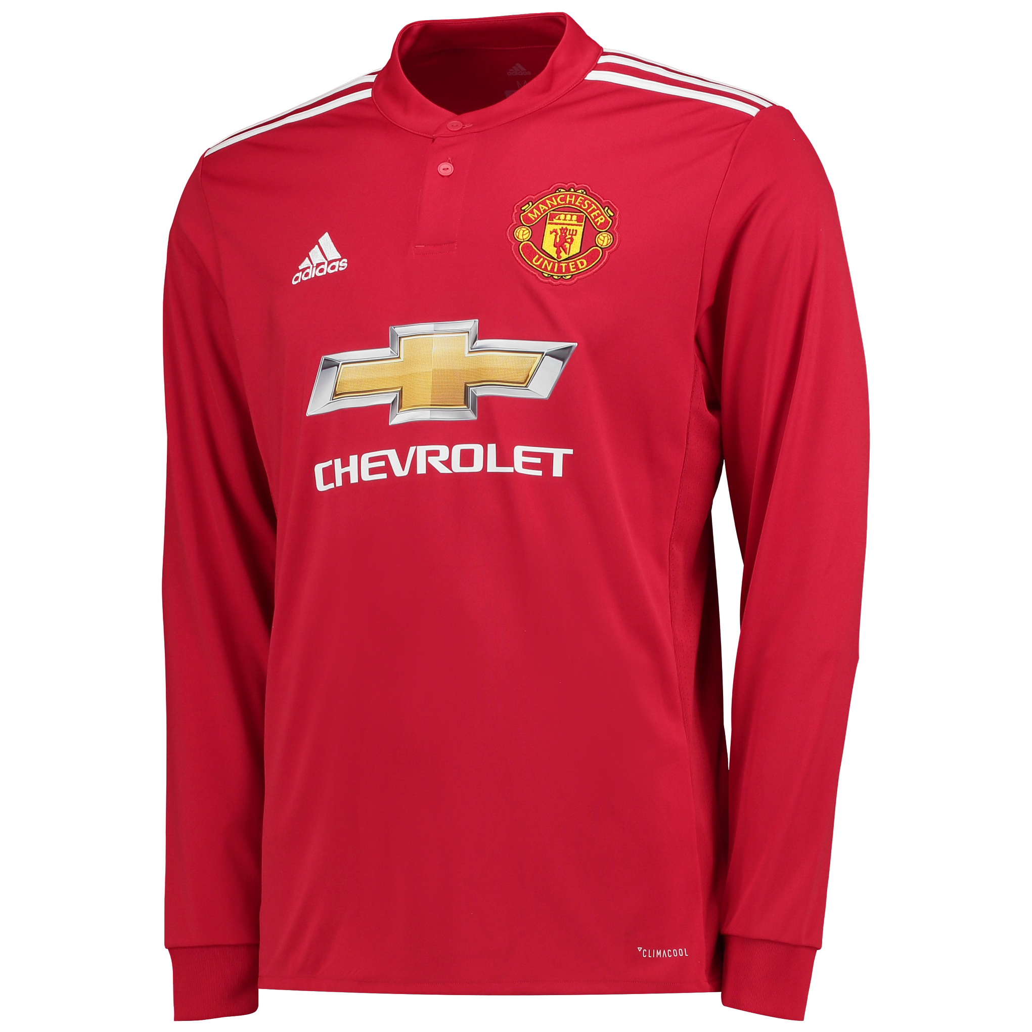 Manchester United Home Shirt 2017-18 - Long Sleeve