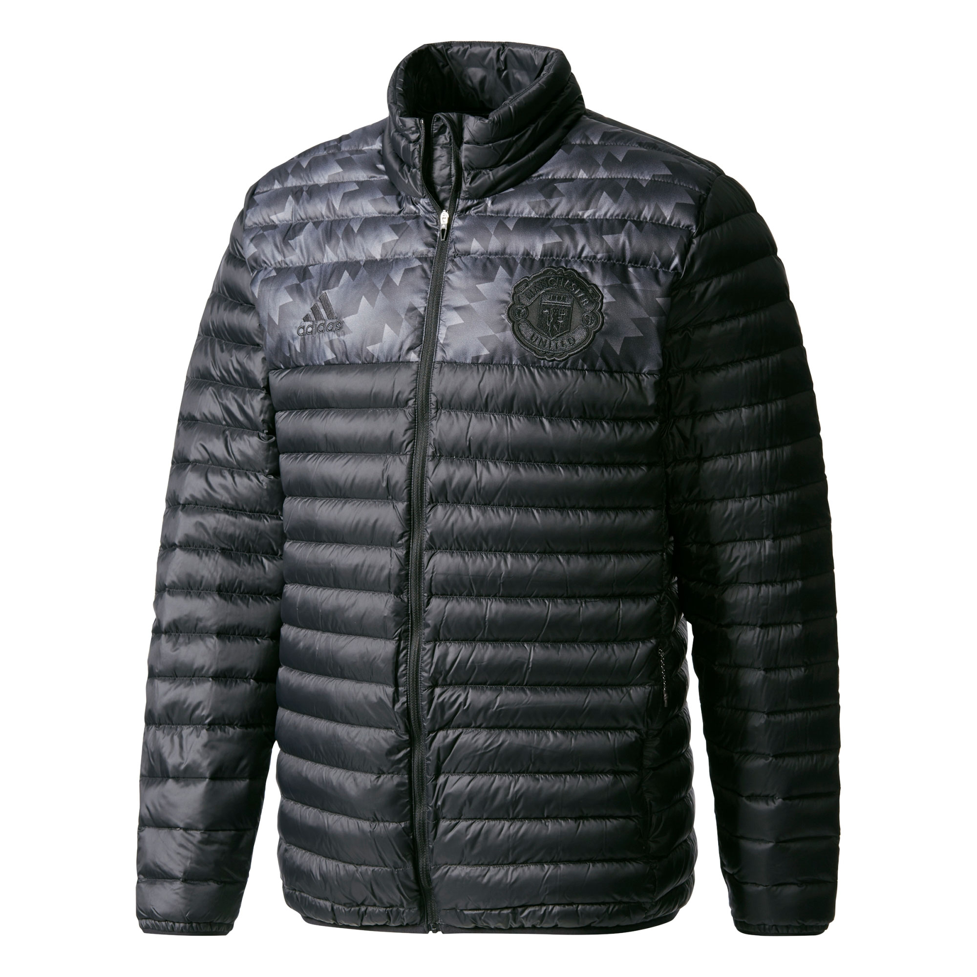 Manchester United Down Jacket - Black