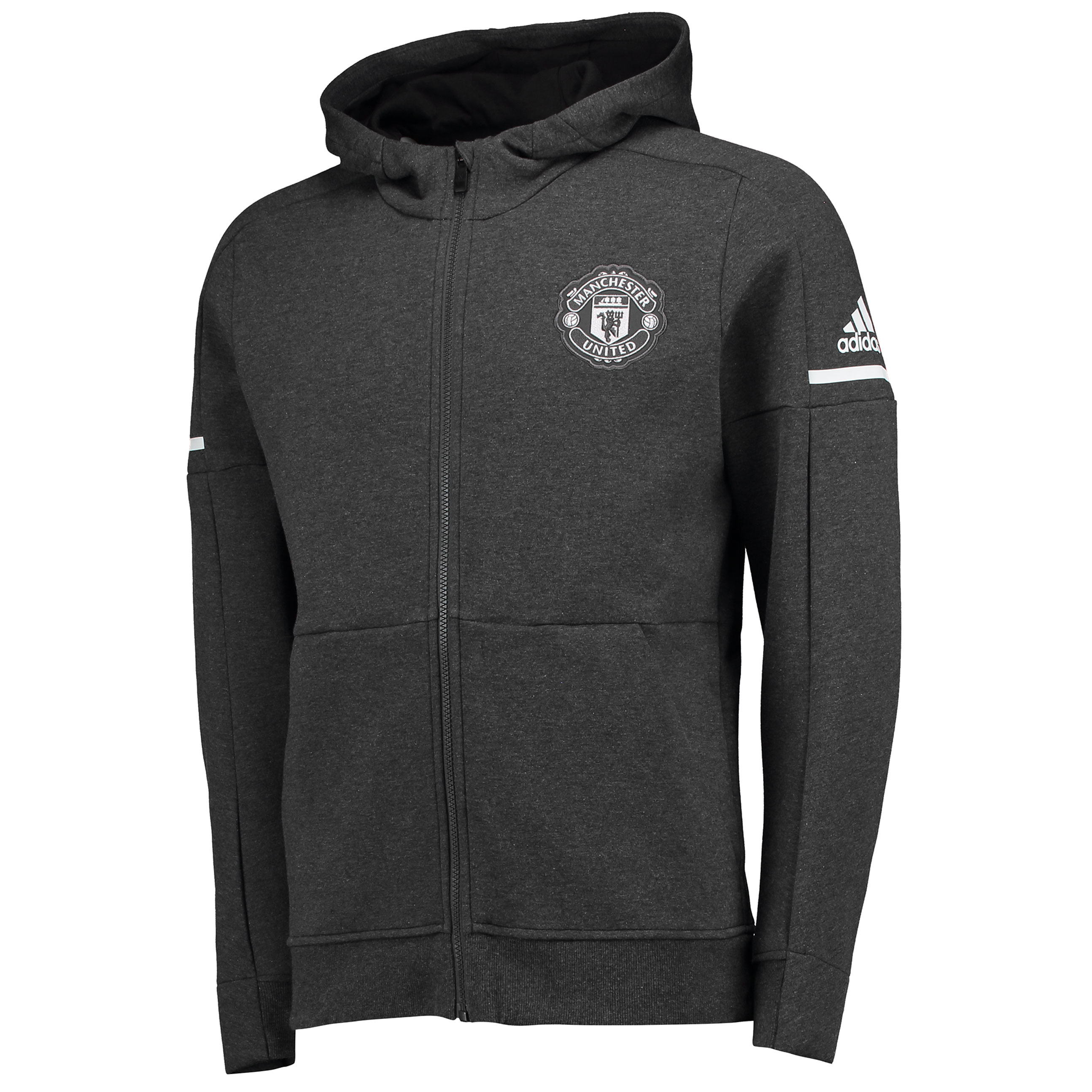 Manchester United Away Anthem Jacket - Dark Grey - Kids