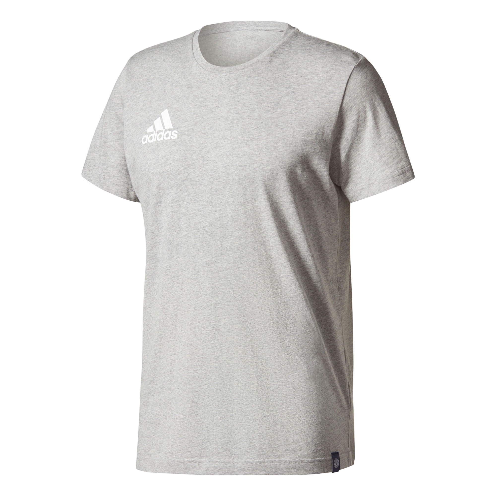 Manchester United T-Shirt - Grey - White