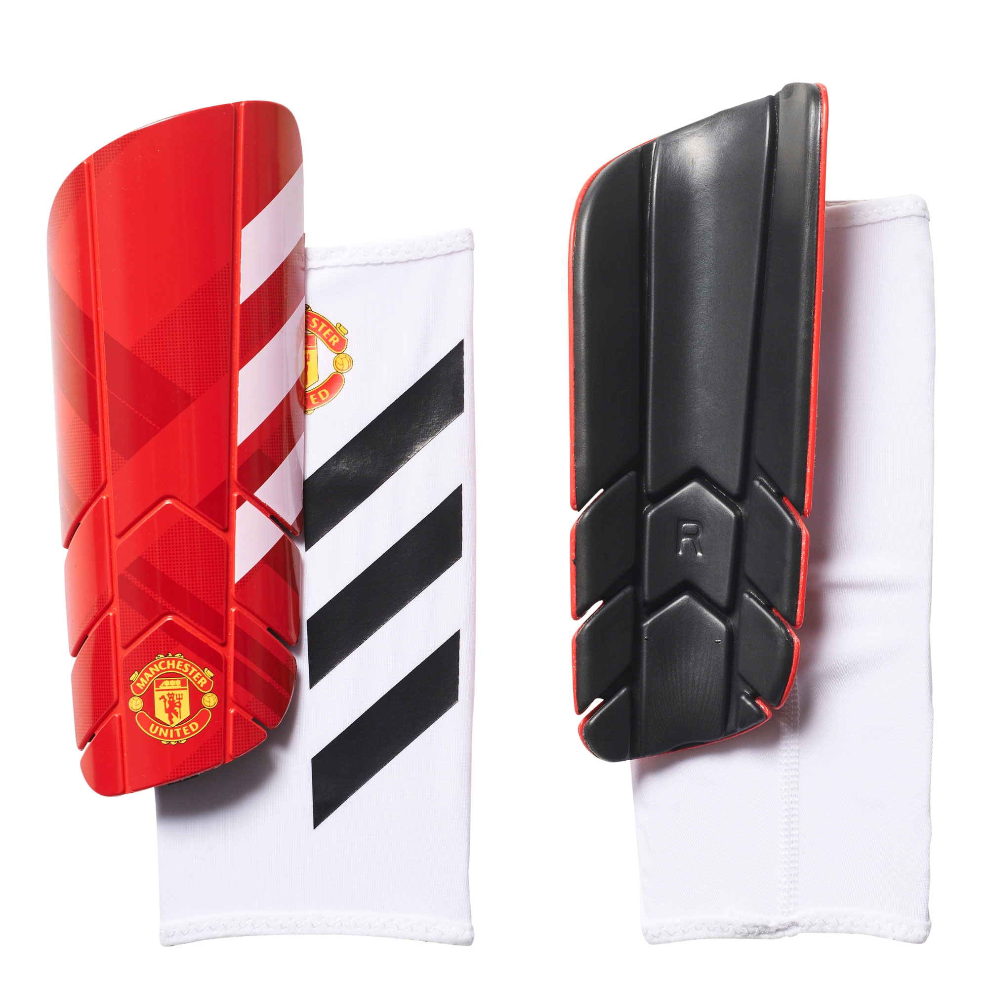 Manchester United Pro Lite Shinguards - Red