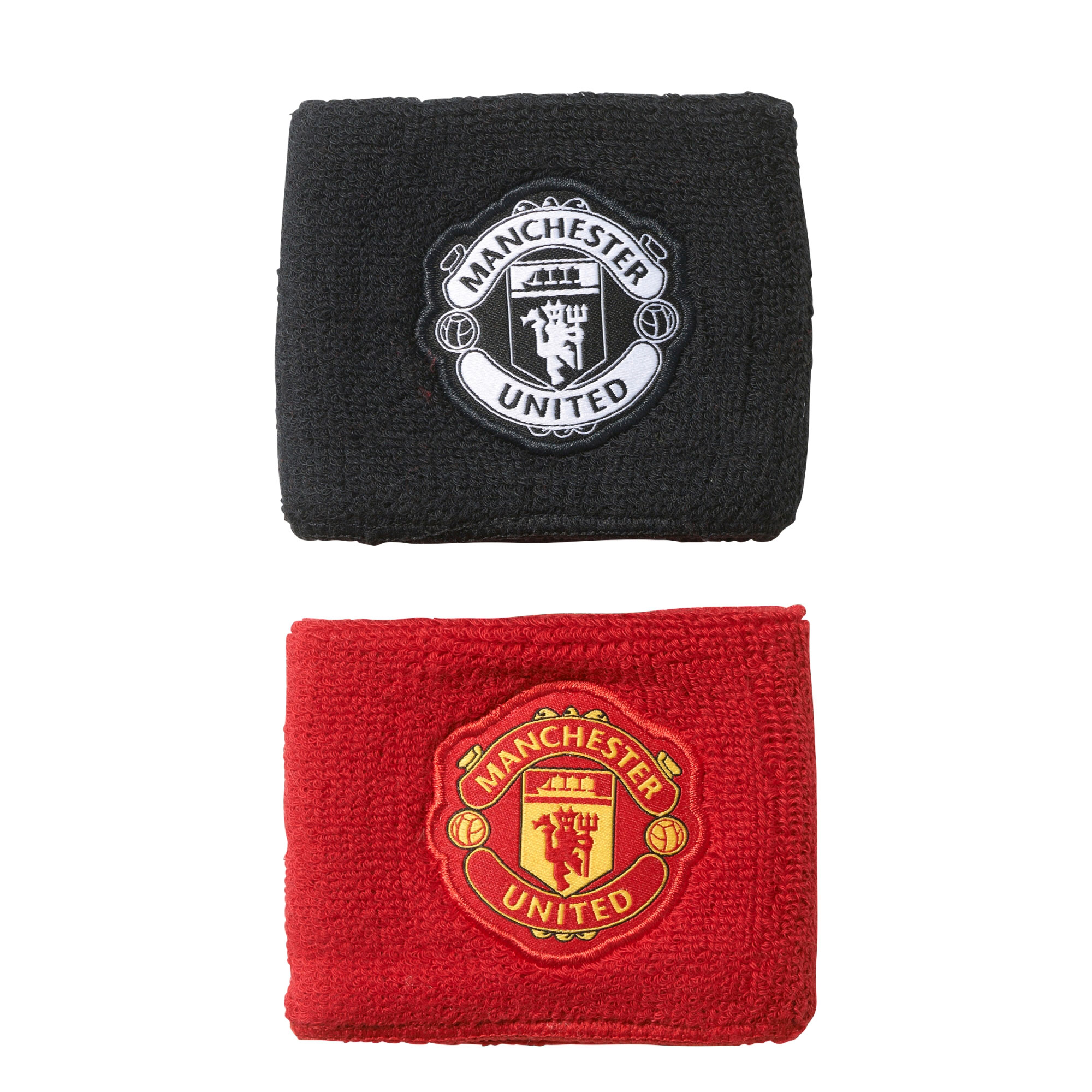 Manchester United Wristbands - Red - Black