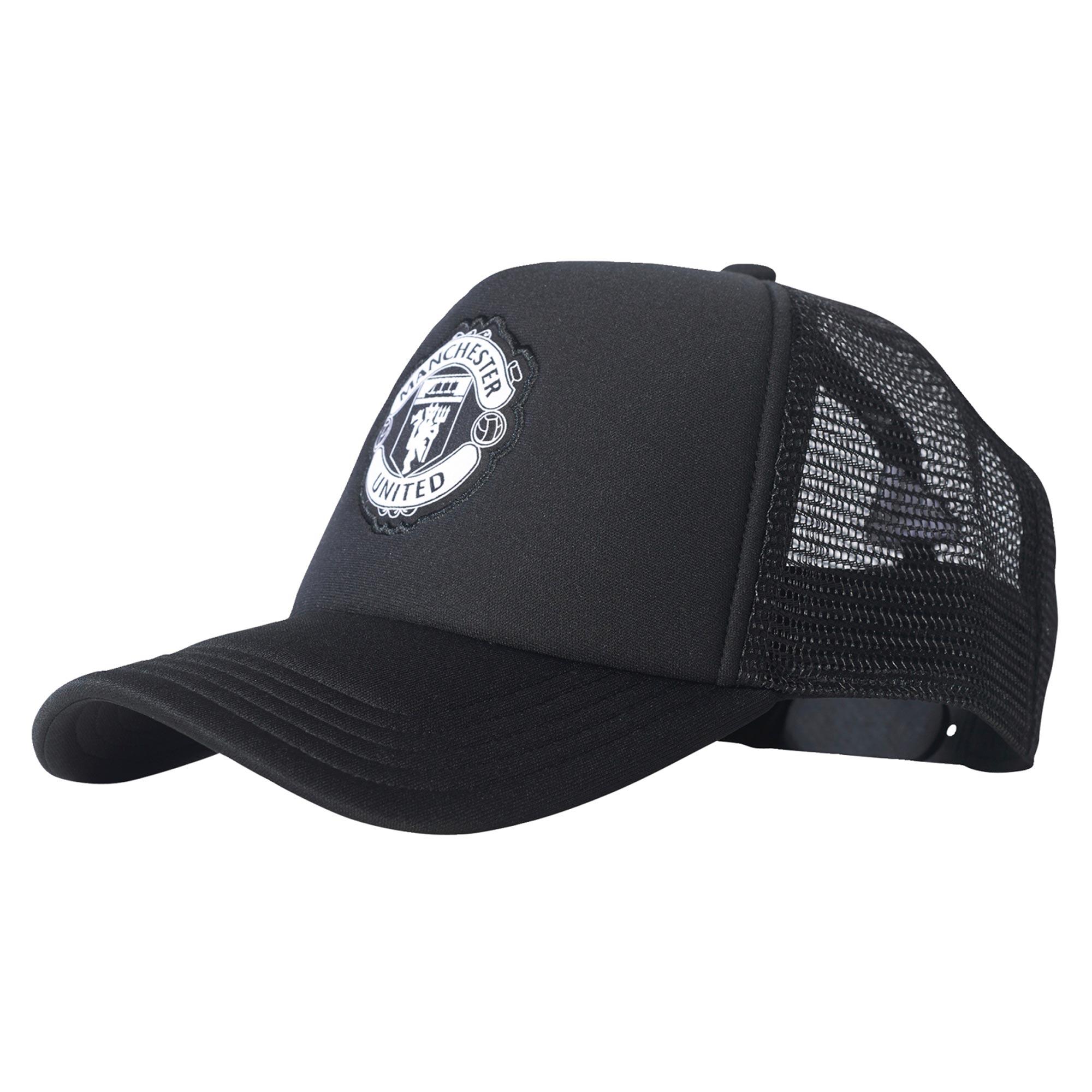 Manchester United Trucker Cap - Black