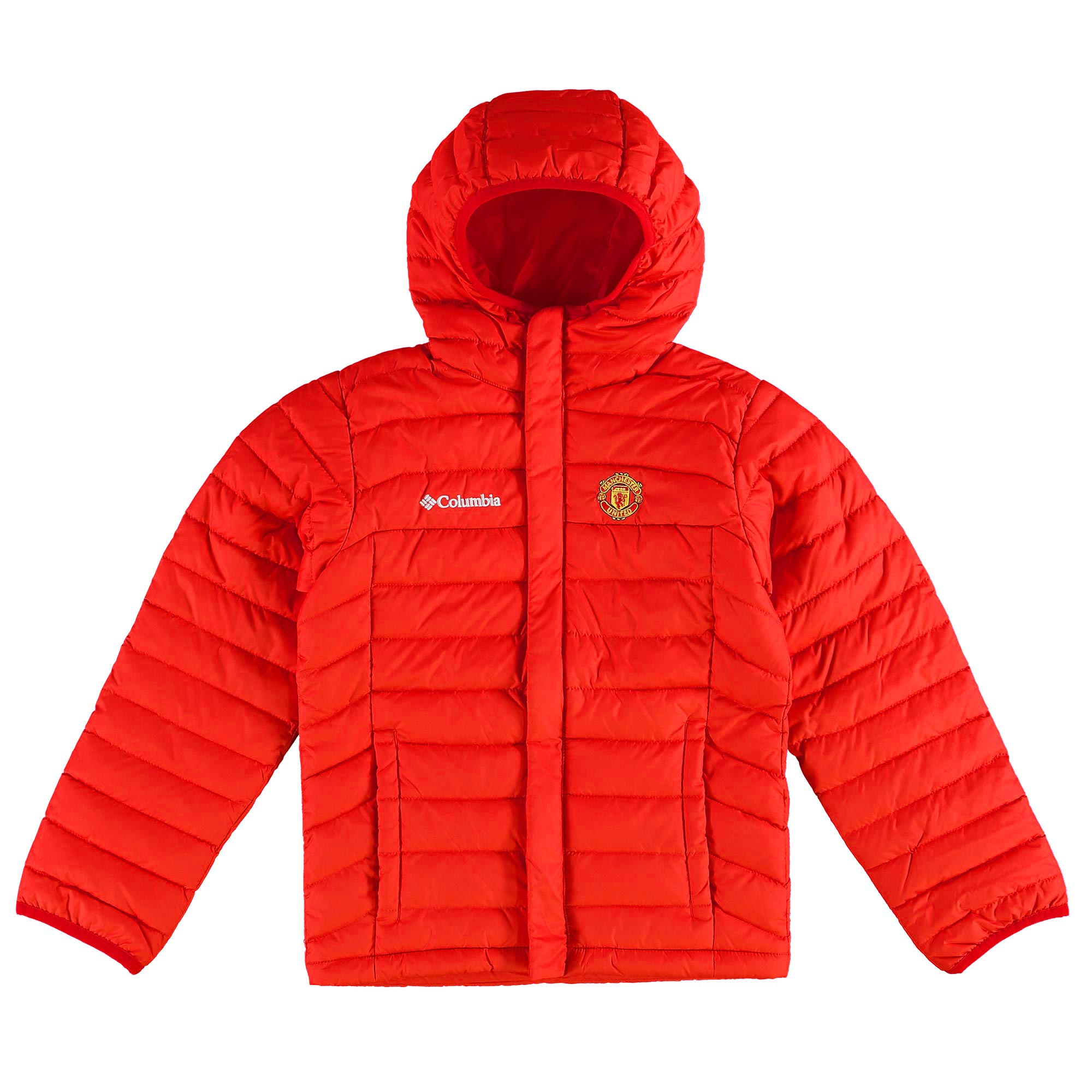 Manchester United Columbia Powder Lite Puffer Jacket - Red - Kids