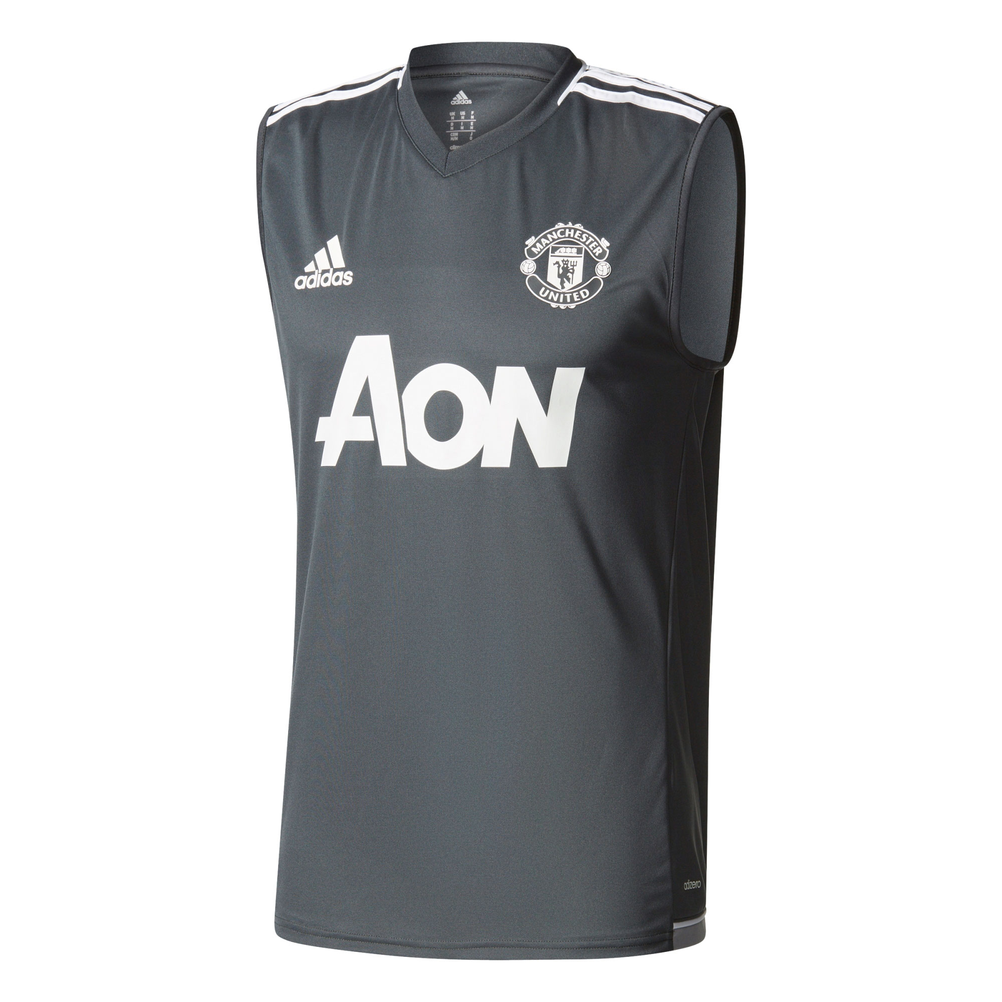 Manchester United Training Sleeveless Jersey - Dark Grey