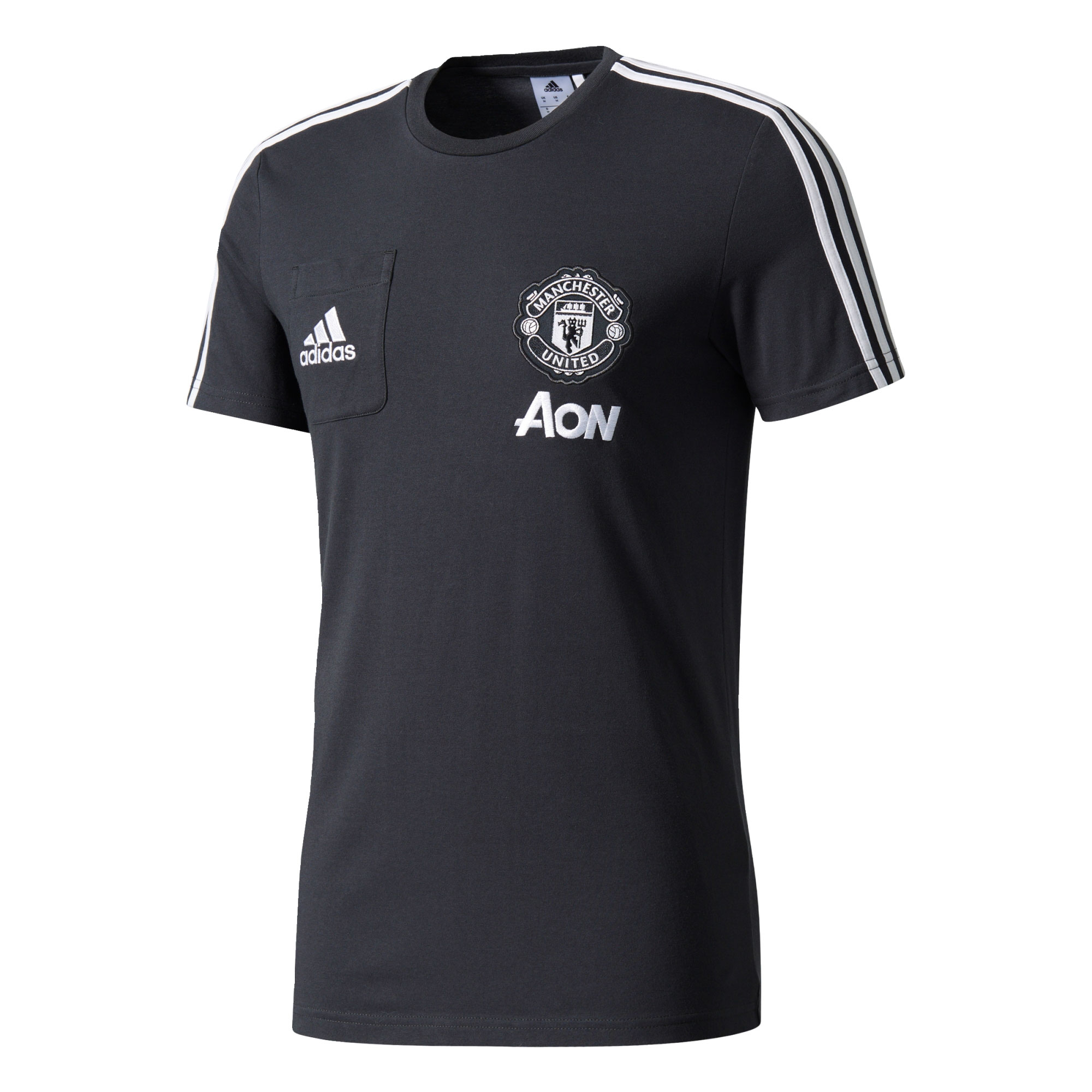Manchester United Training T-Shirt - Dark Grey