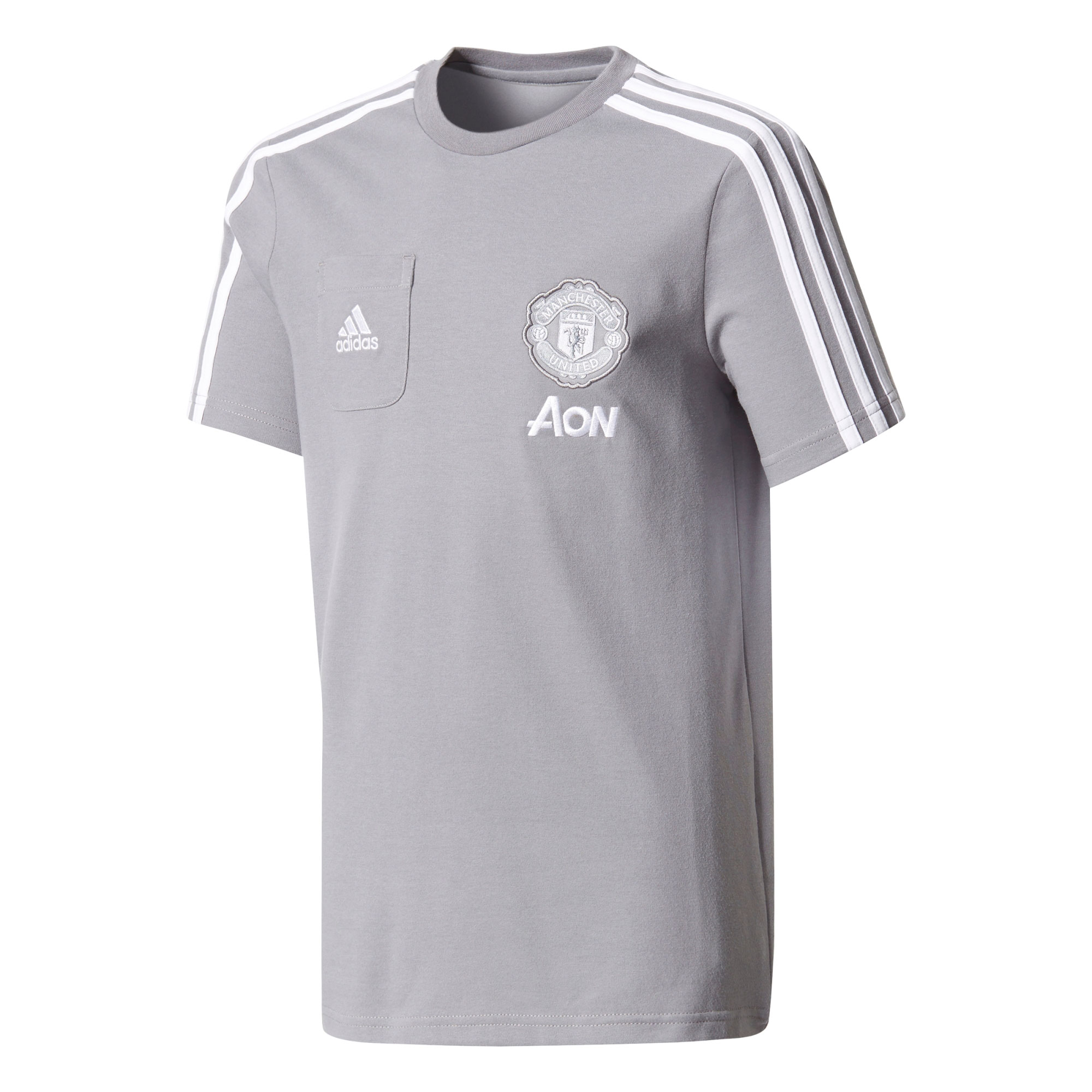 Manchester United Training T-Shirt - Grey - Kids