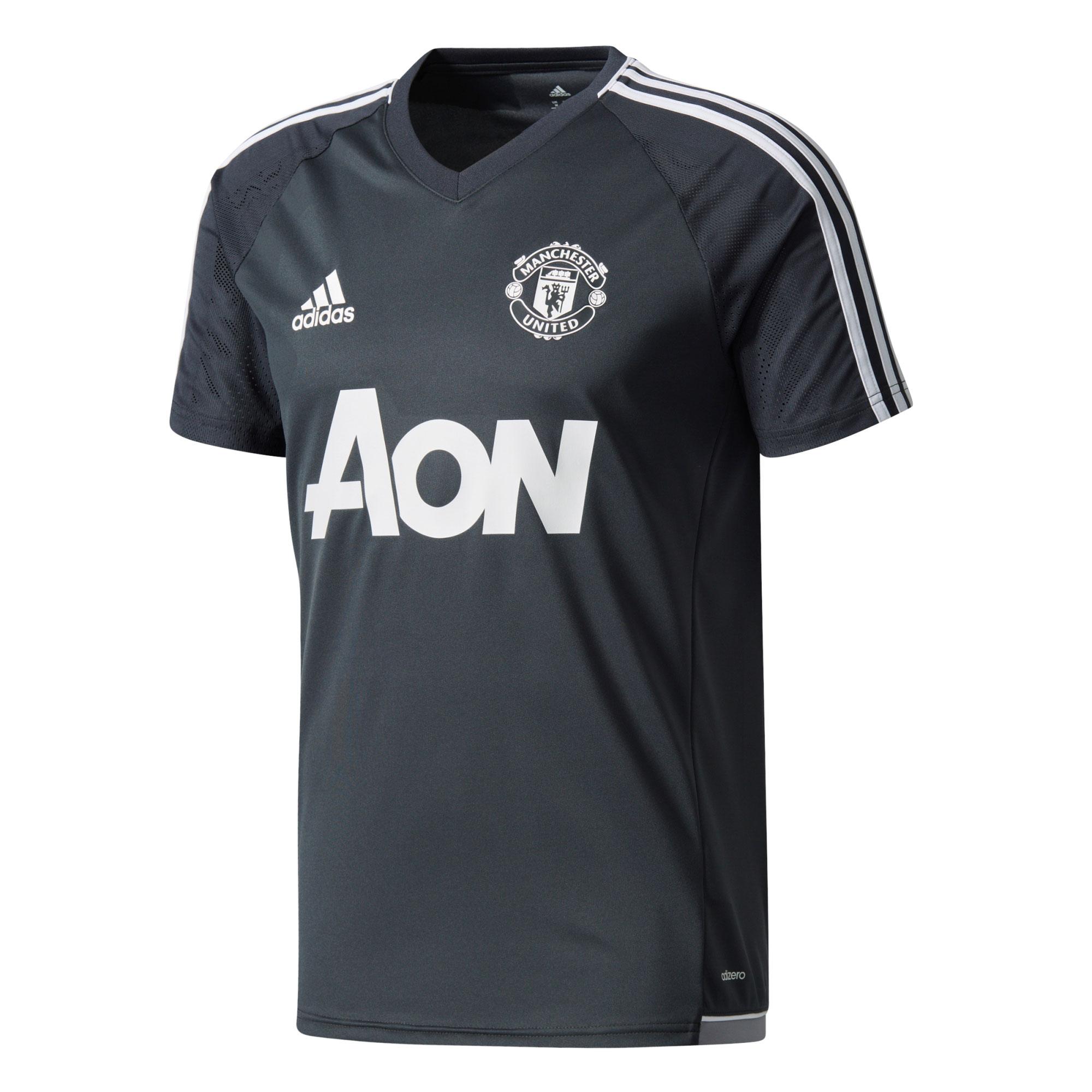 Manchester United Training Jersey - Dark Grey