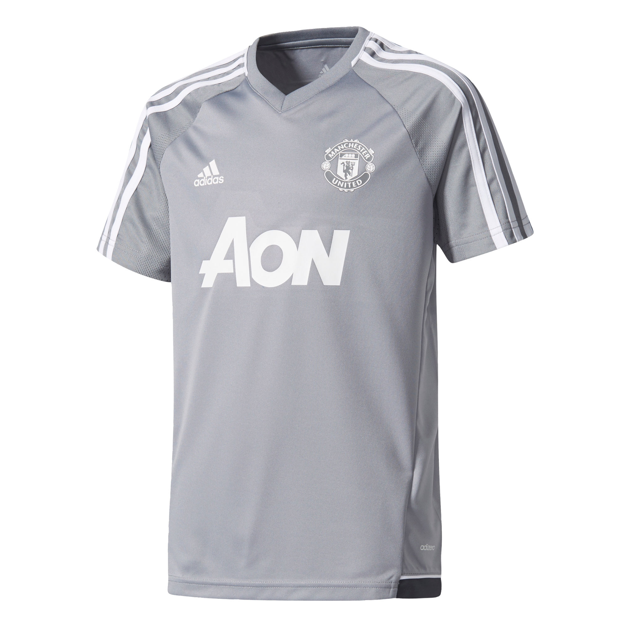 Manchester United Training Jersey - Grey - Kids