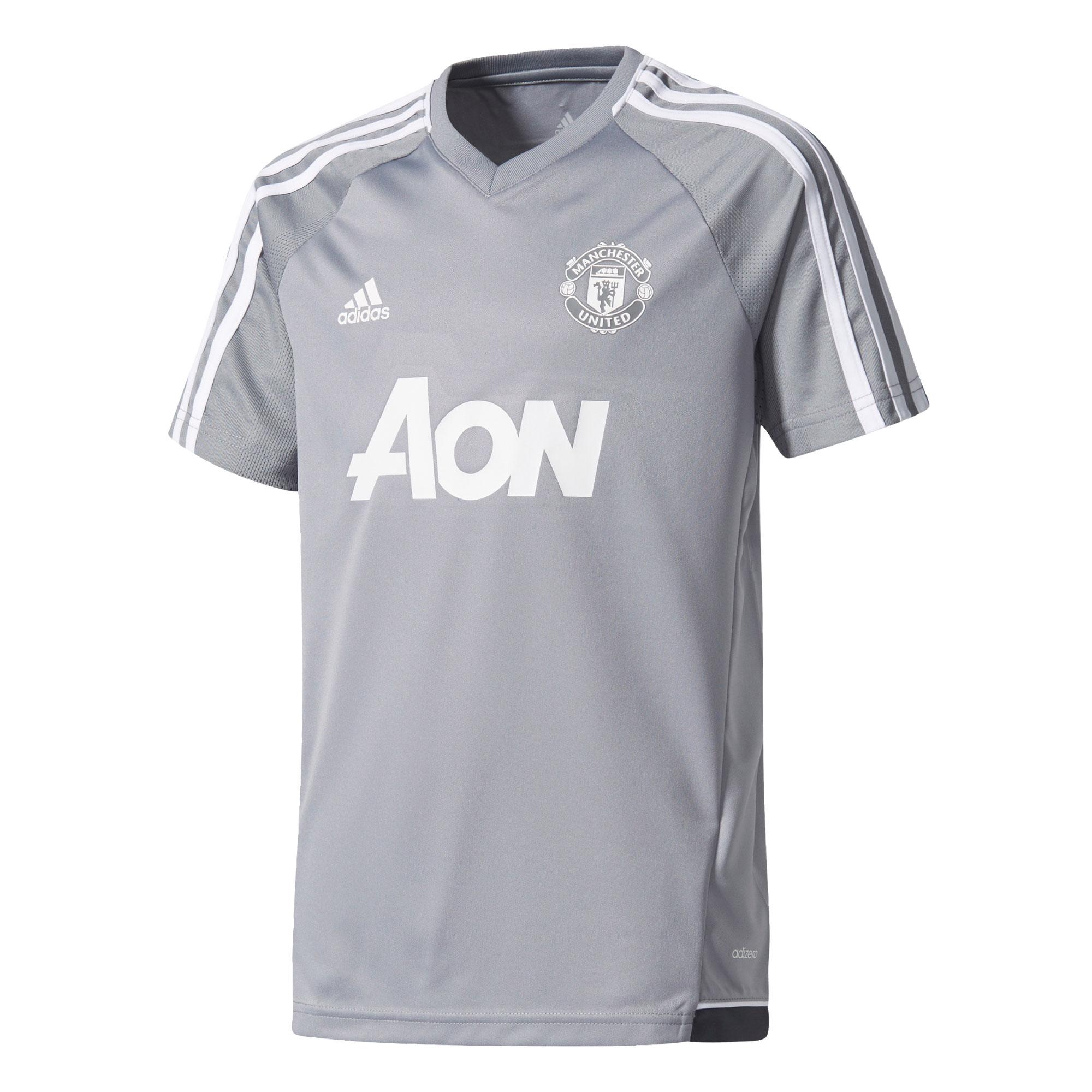 Manchester United Training Jersey - Grey - Kids
