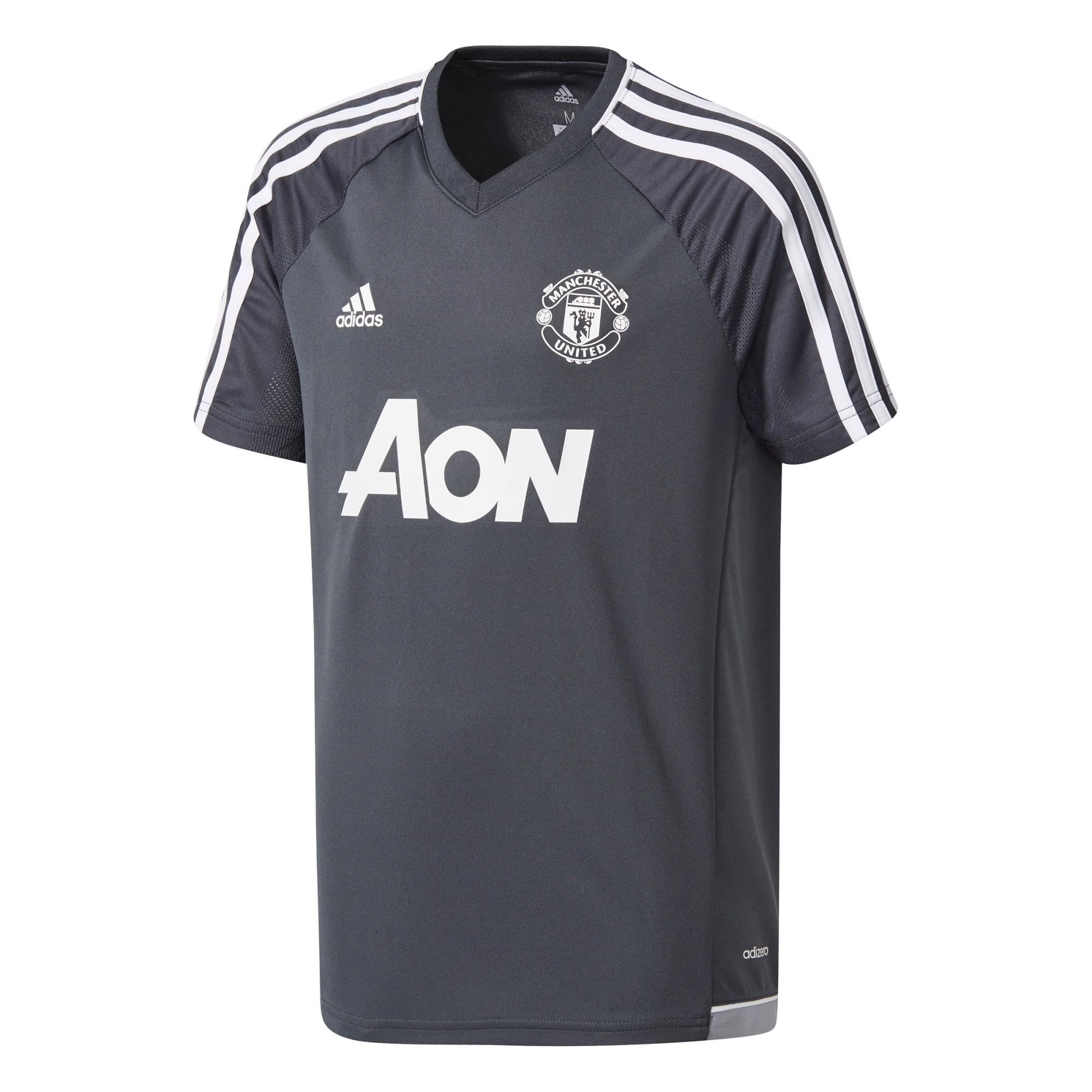 Manchester United Training Jersey - Dark Grey - Kids