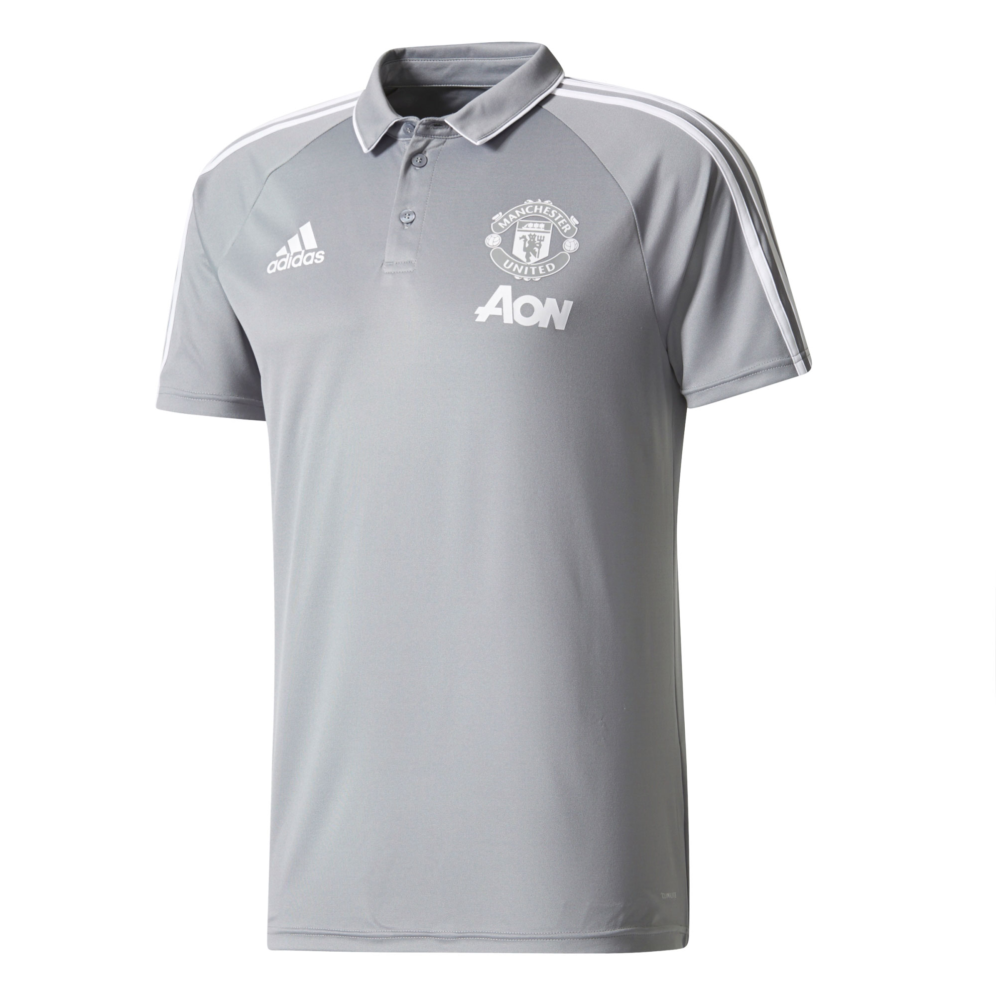 Manchester United Training Polo - Grey
