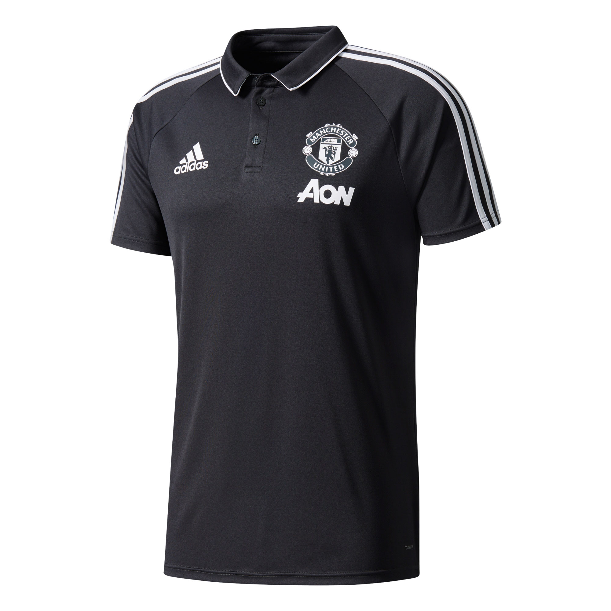 Manchester United Training Polo - Dark Grey