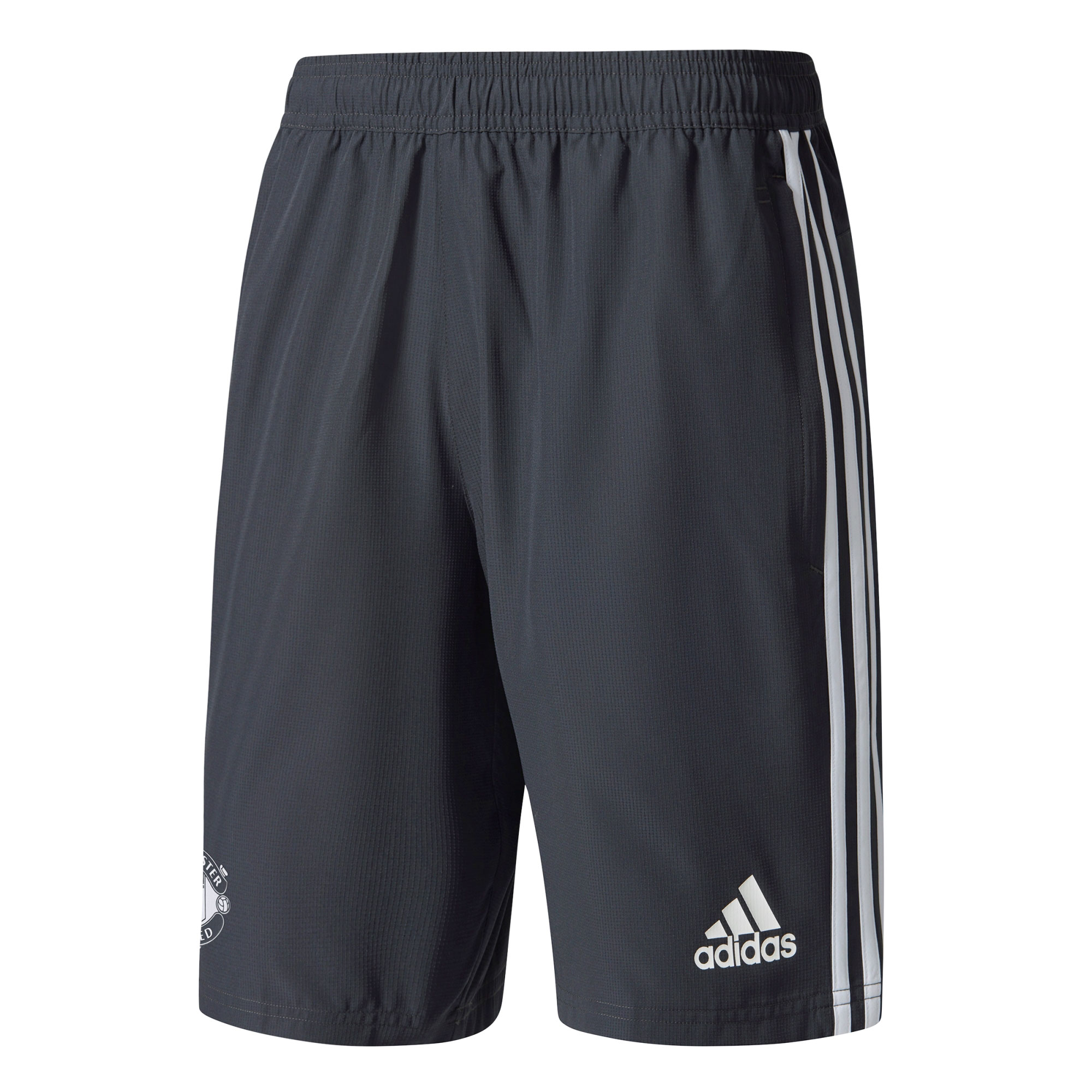 Manchester United Training Woven Short - Dark Grey
