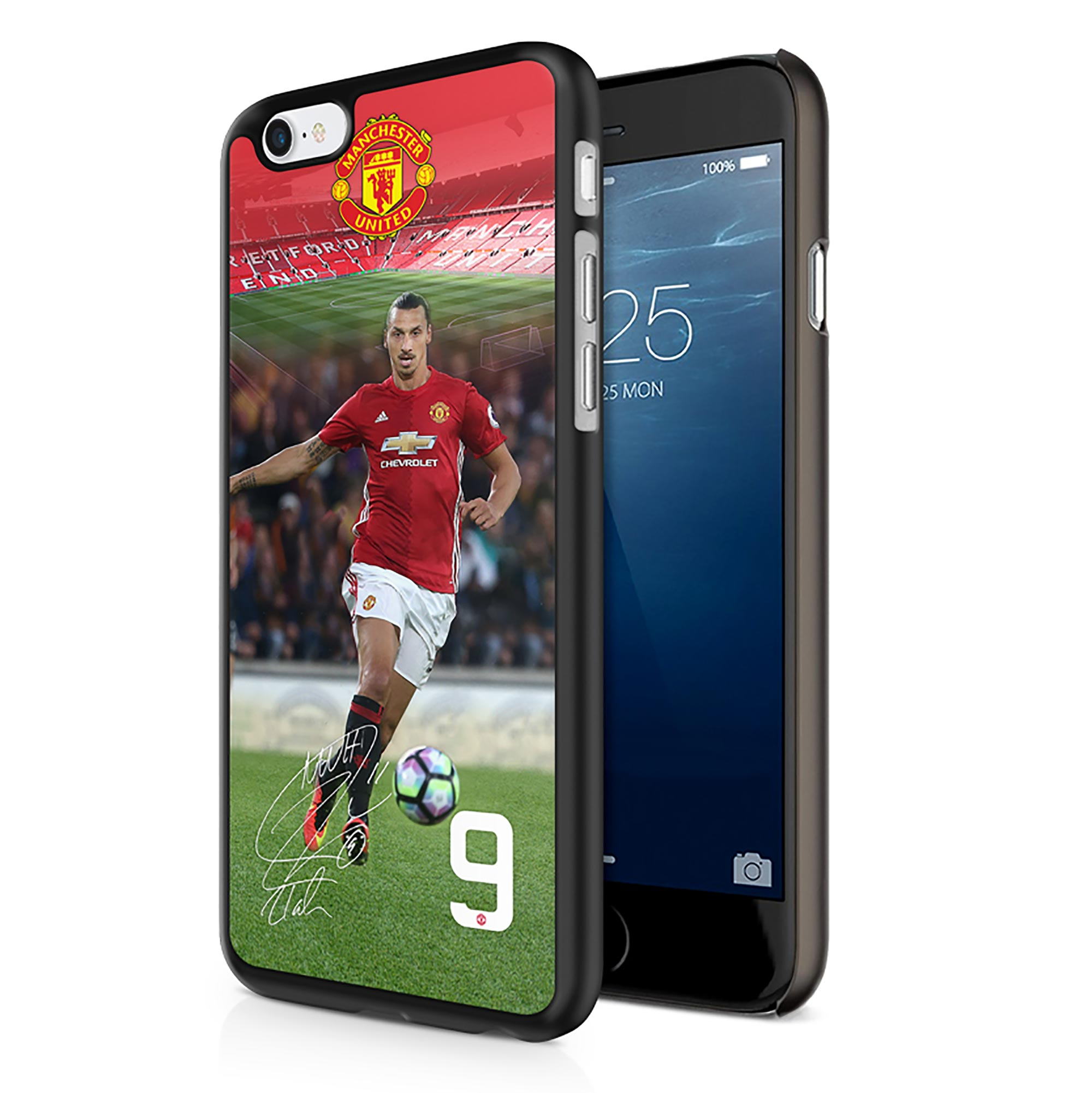Coque 3D pour iPhone6 Manchester United Ibrahimovic