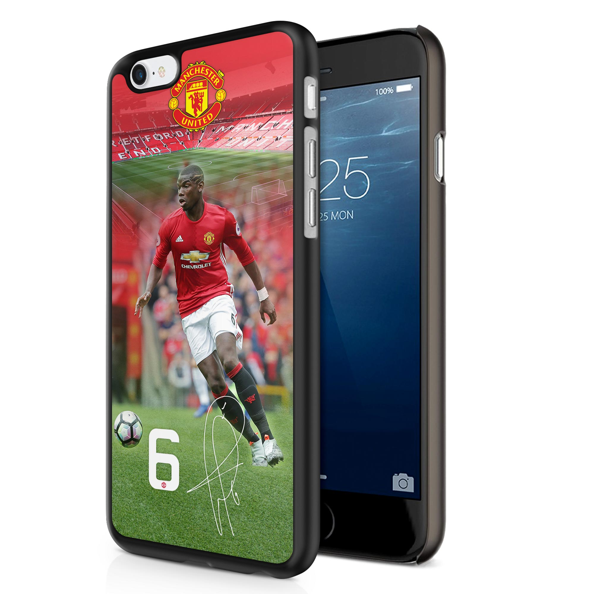 Image of Manchester United 3D iPhone 6 Pogba Cover