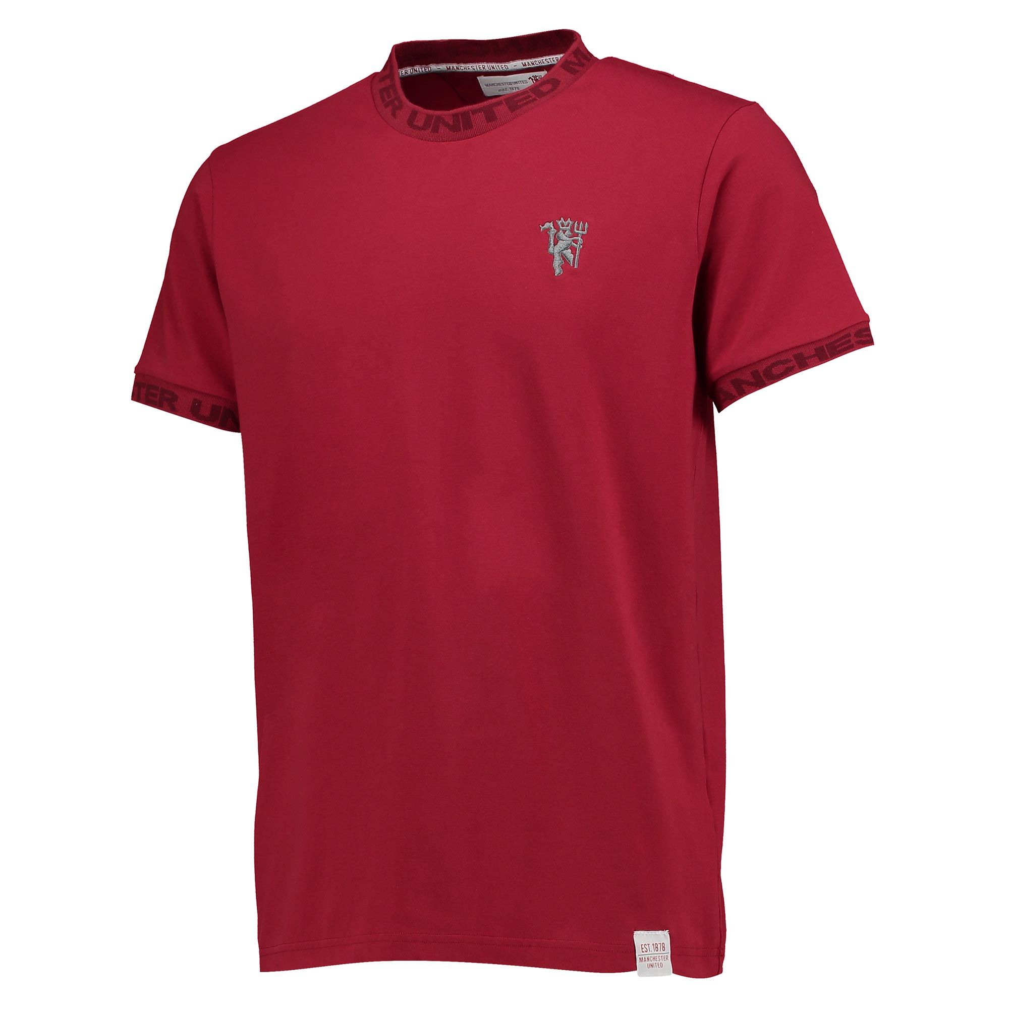 Manchester United Lifestyle T-Shirt - Brick Red - Mens