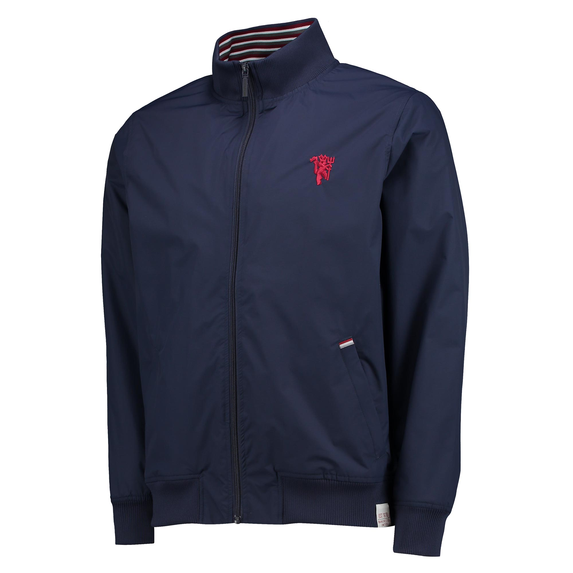 Manchester United Lifestyle Track Jacket - Midnight - Mens