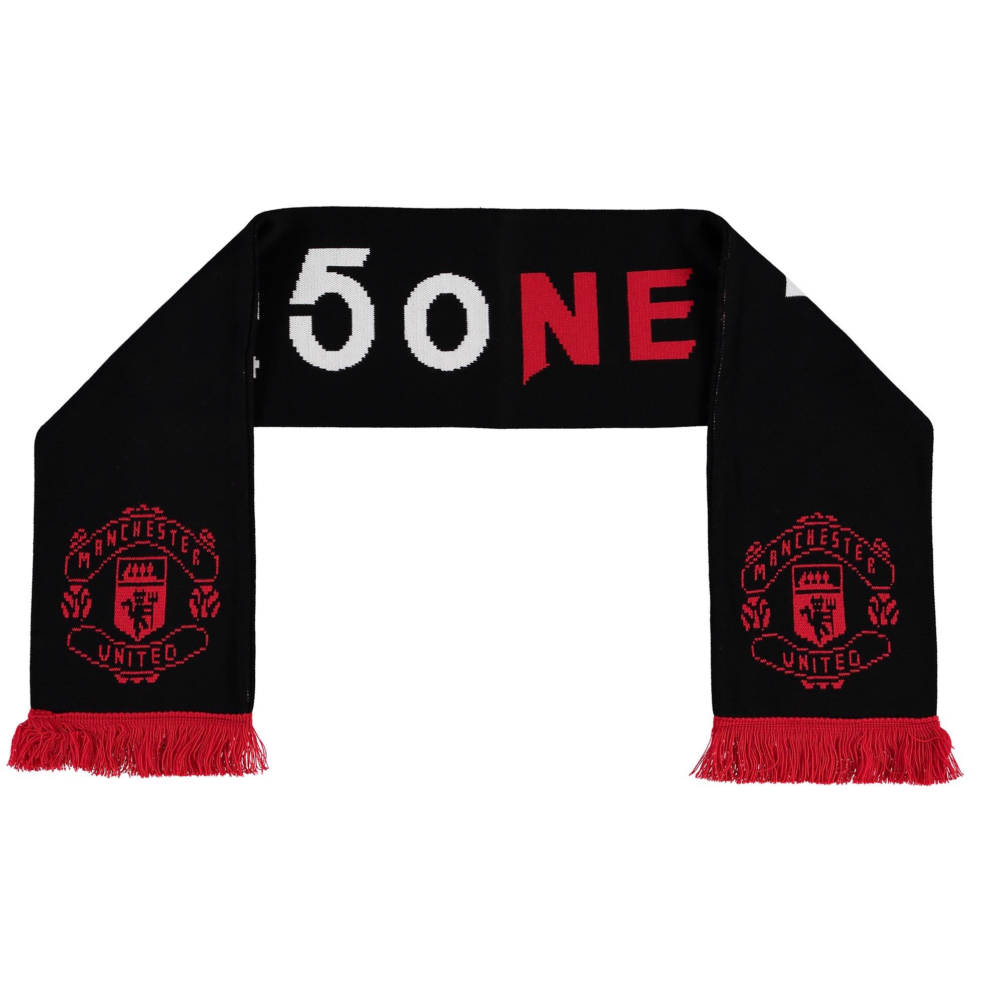 Manchester United Rooney 250 Goals Scarf - Black - Adult