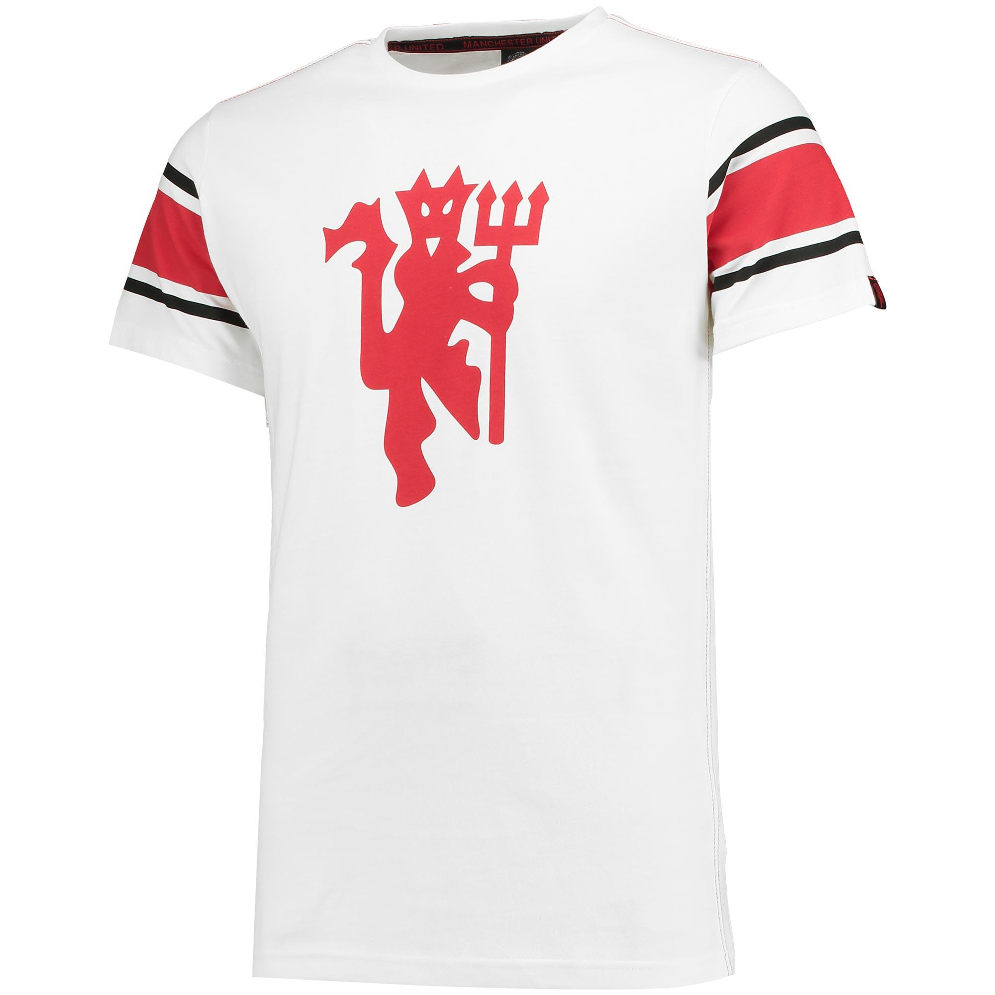 Manchester United Stretford T-Shirt - White - Mens