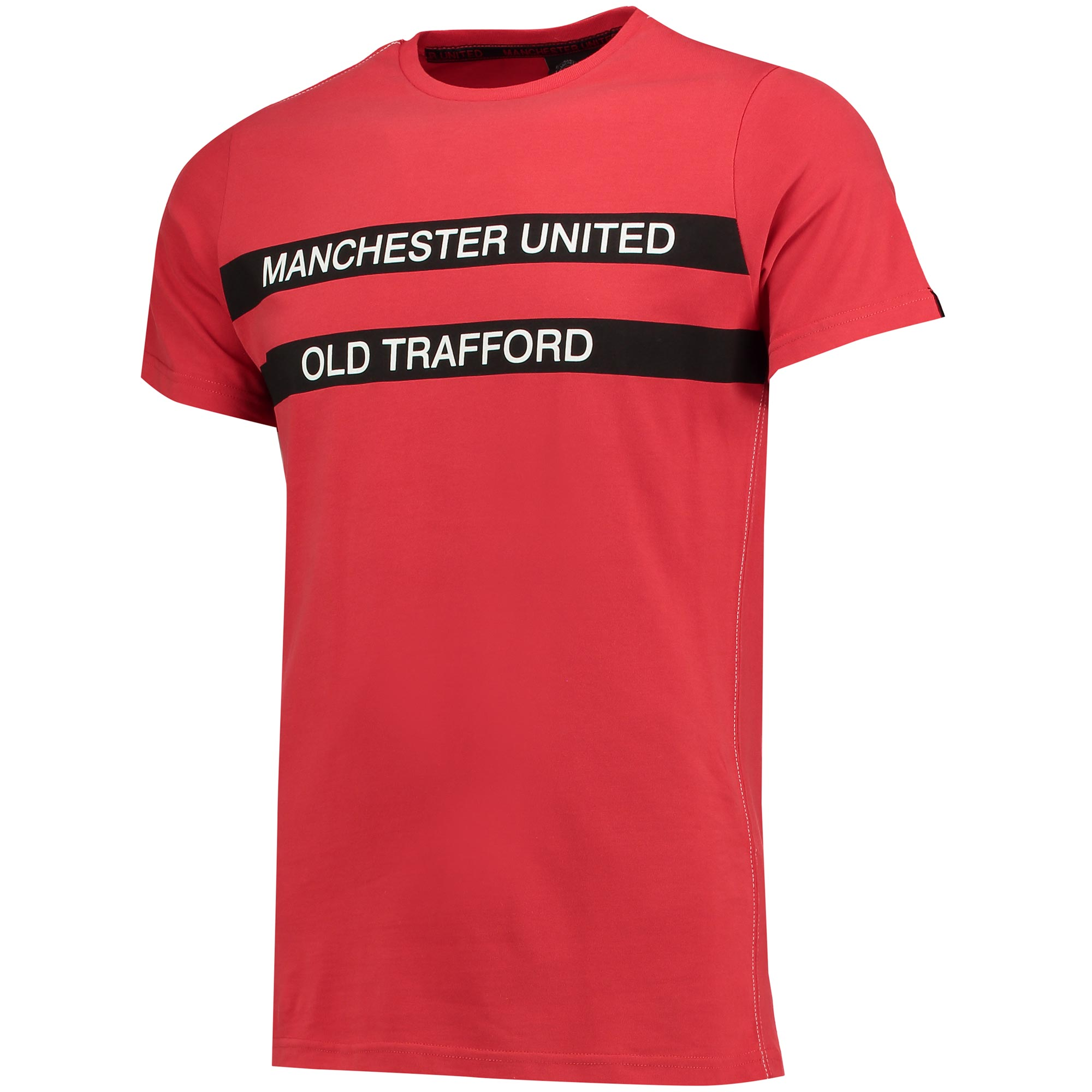 Manchester United Home T-Shirt - Red - Mens