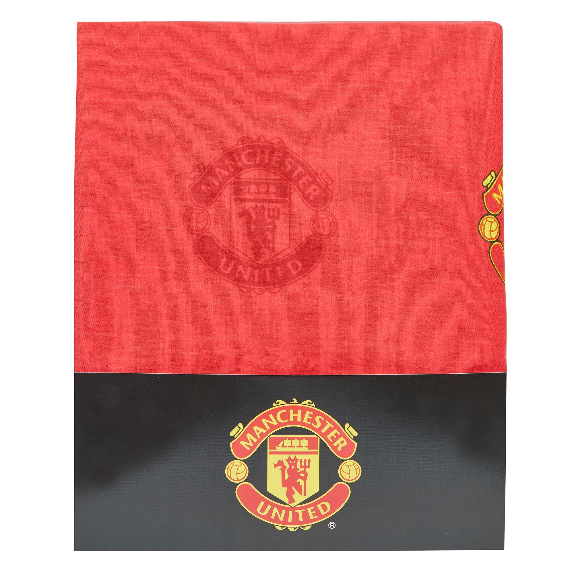 Manchester United Rideaux motif écusson - 182cm