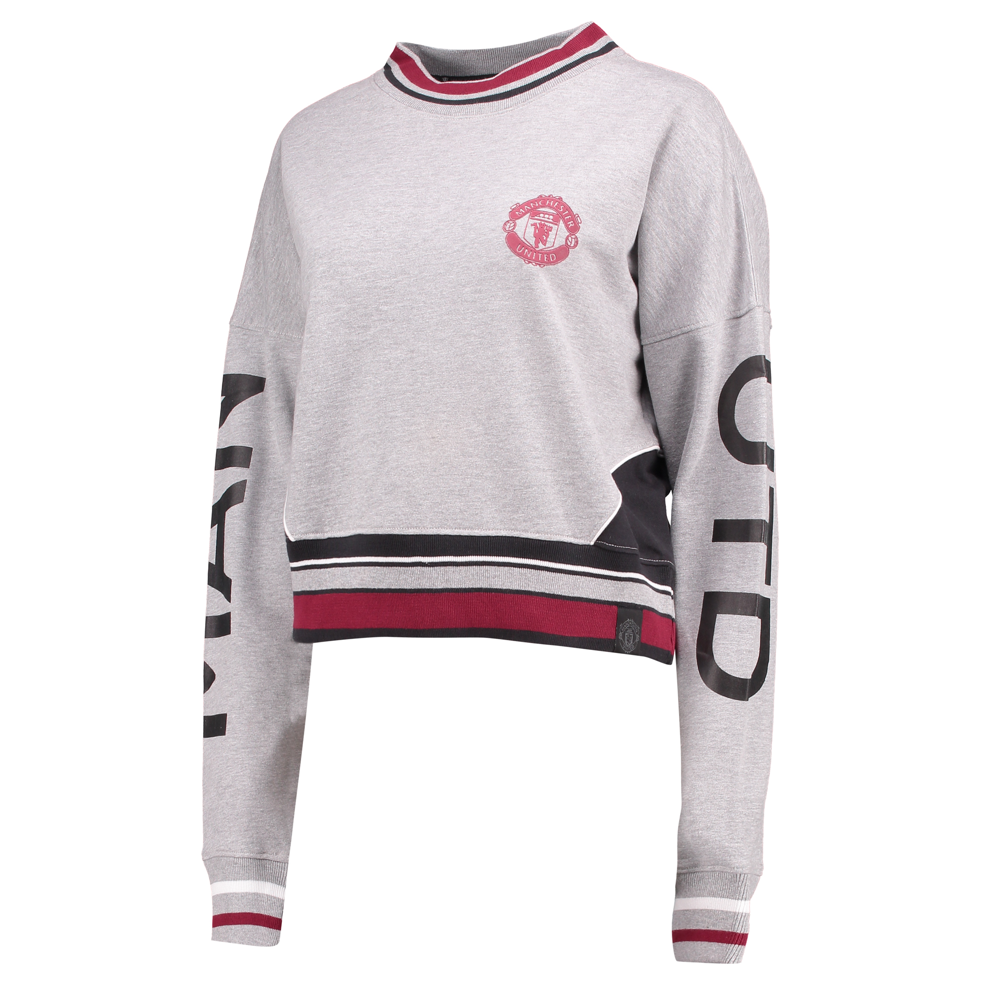 Pull Manchester United Sportswear - Gris chiné - Femme