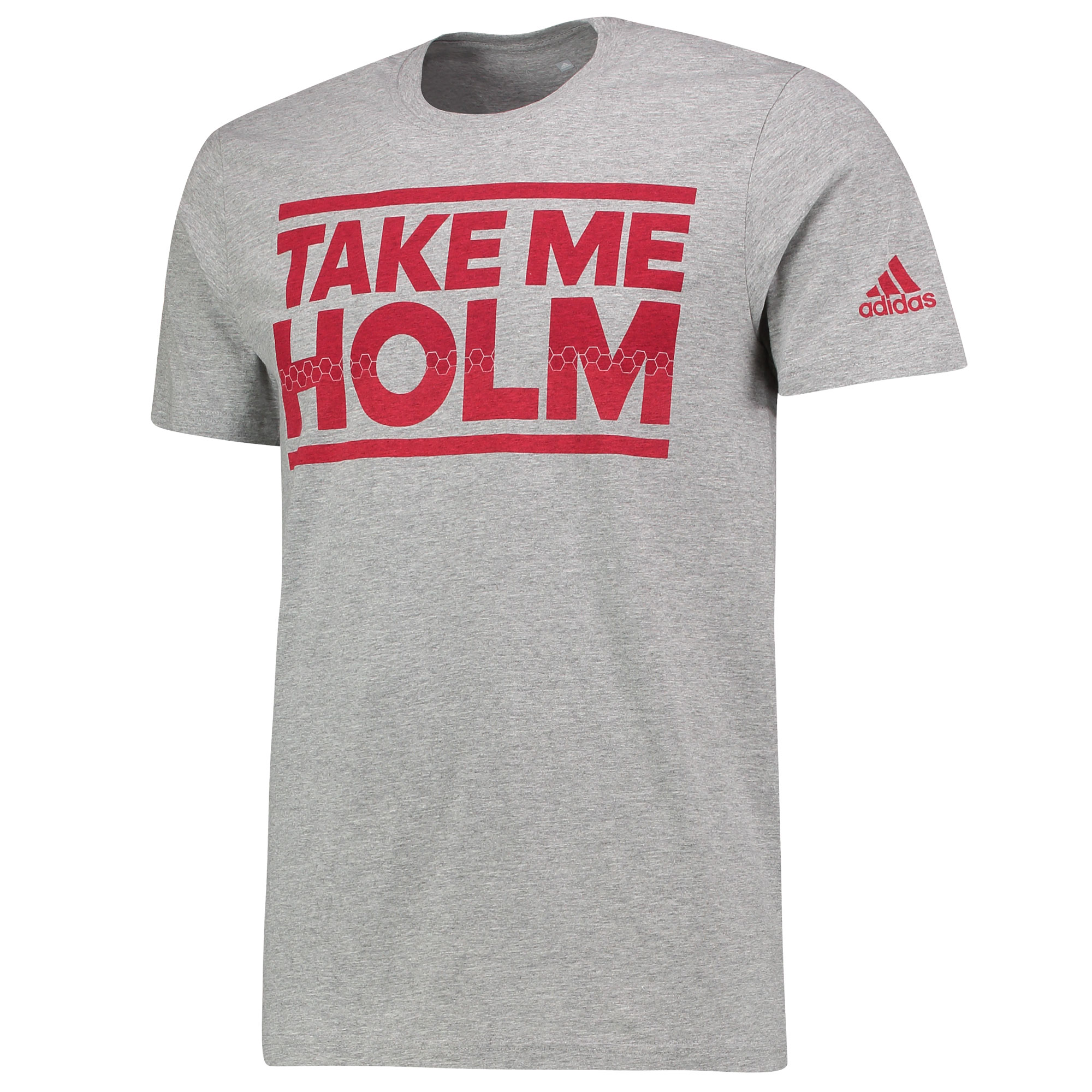 Manchester United Take Me Holm T-Shirt - Grey