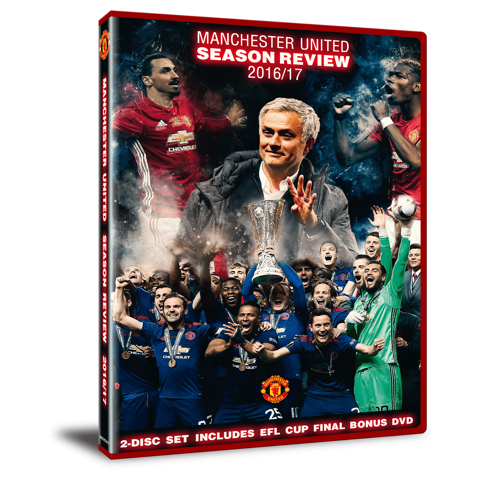 Manchester United Season Review 2016-17 DVD
