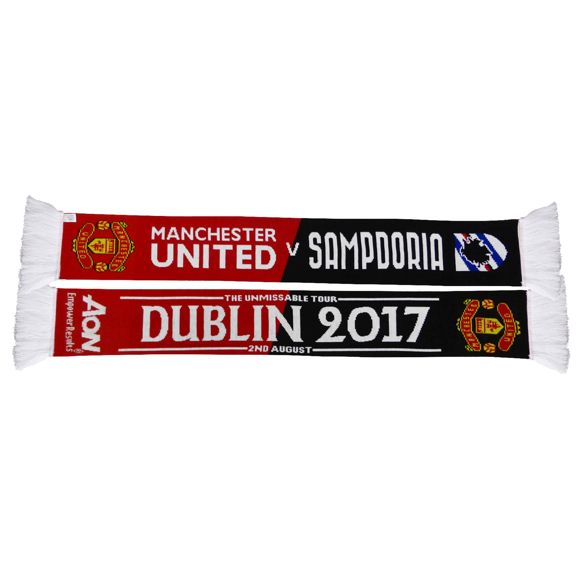 Écharpe Manchester United Match Up - Rouge/Noir - Adulte
